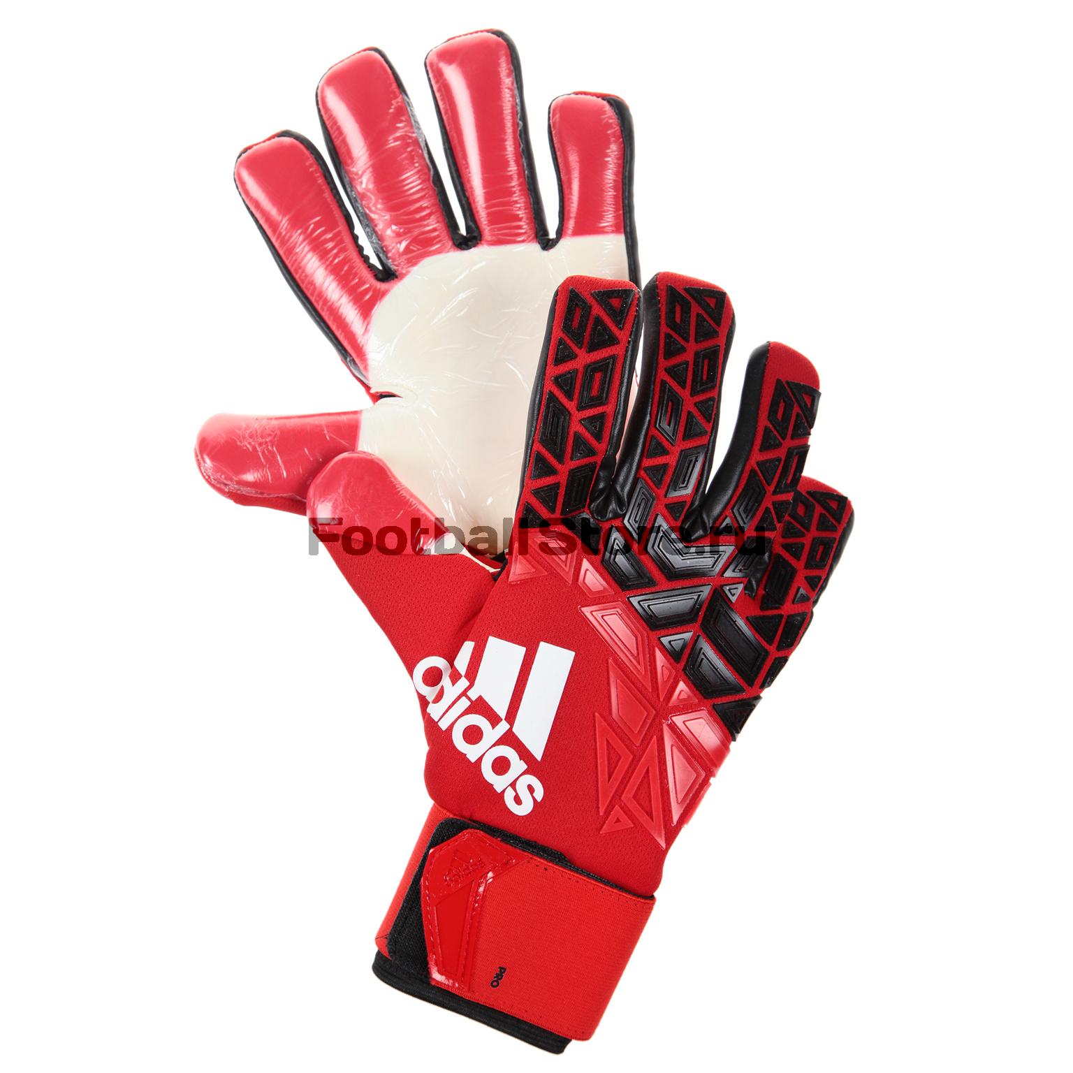 Перчатки вратарские Adidas Ace Trans Pro AZ3690 перчатки вратарские adidas ace half neg az3688