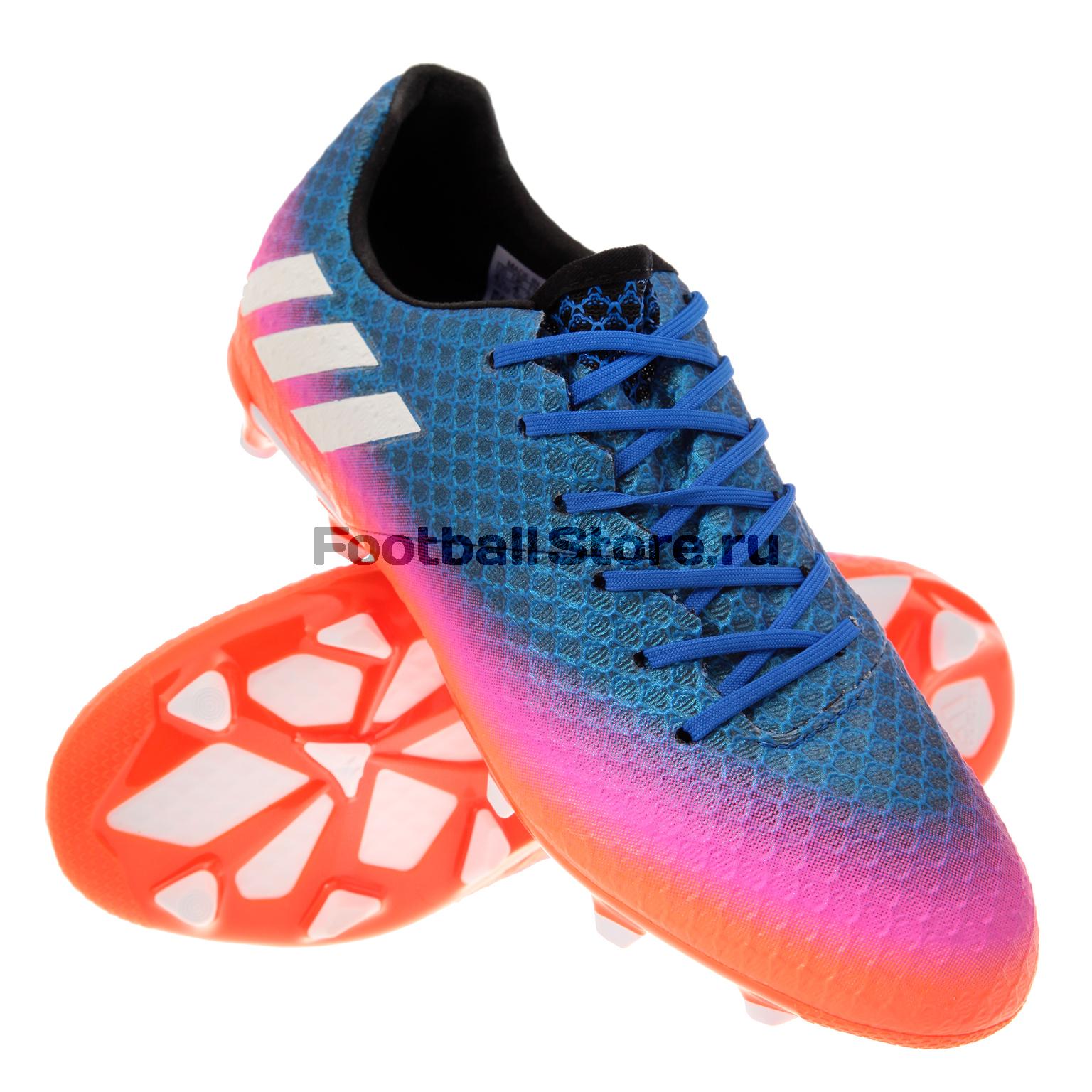 Бутсы Adidas Бутсы Adidas Messi 16.1 FG JR BA9143 adidas adidas messi 15 3 jr af4665