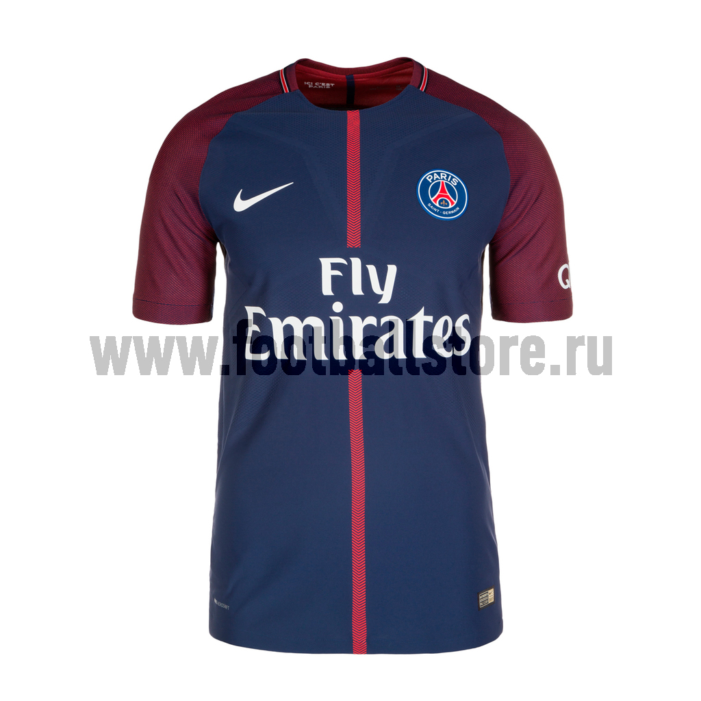 PSG Nike Футболка оригинальная Nike PSG Home Vapor Match 847203-430 клюшка для гольфа nike vapor pro 2015