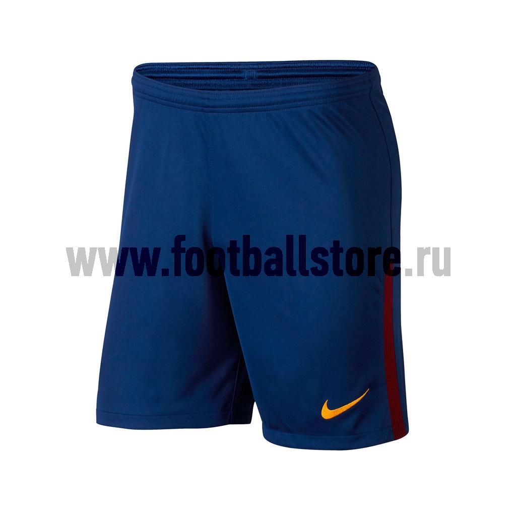 Шорты игровые Nike Barcelona Stadium 847257-455 nike nike fc manchester united 2014 15 stadium otc