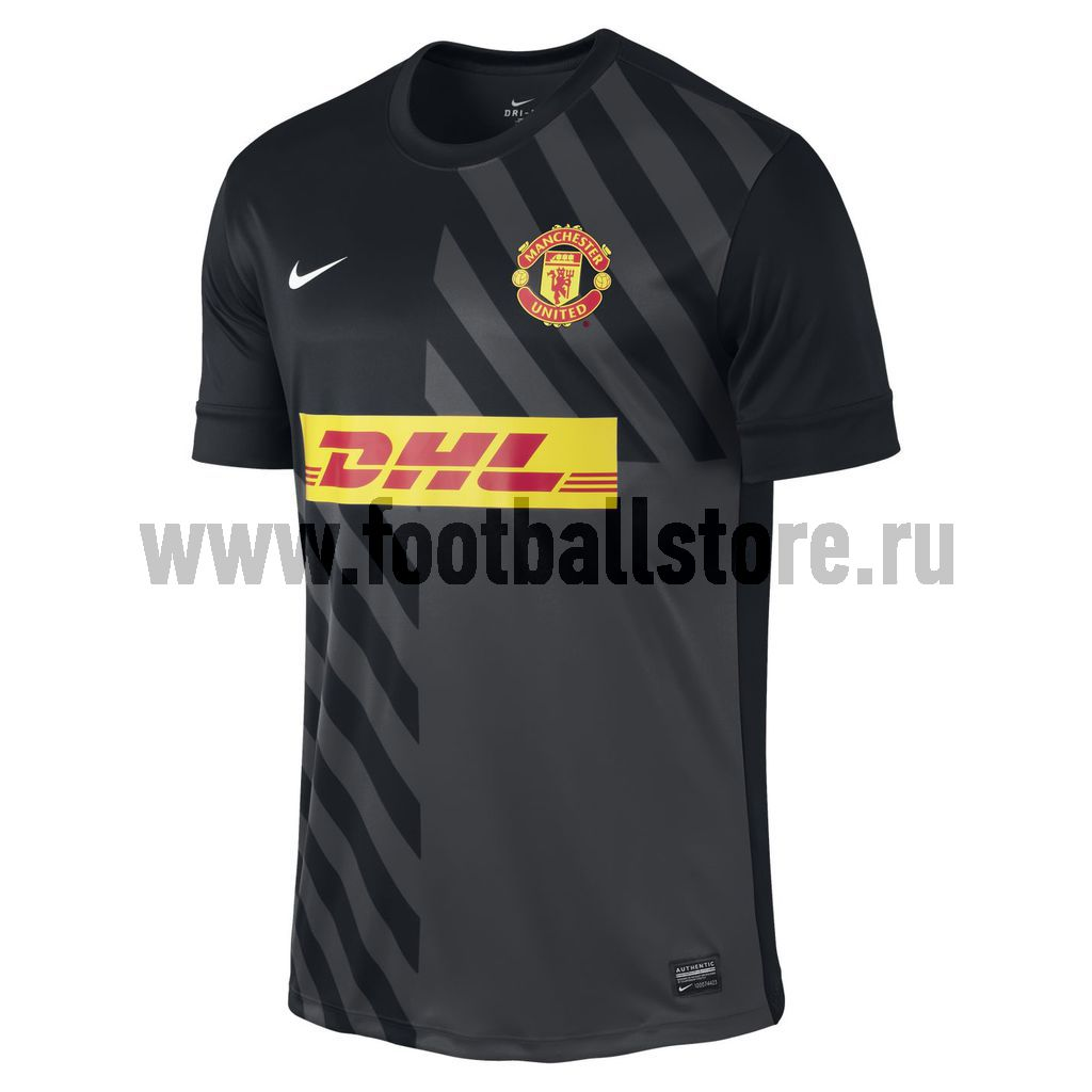 Manchester United Nike Майка тренировочная Nike Man Utd SS Prematch Top 477741-010