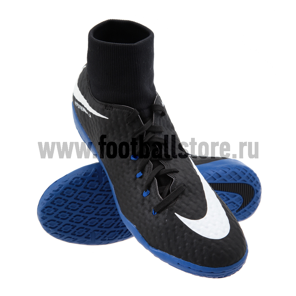 Обувь для зала Nike HypervenomX Phelon 3 DF IC 917768-002 детские бутсы nike бутсы nike jr phantom 3 elite df fg ah7292 081