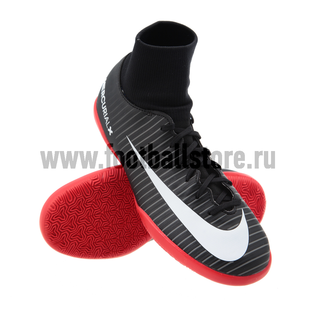 Обувь для зала Nike JR MercurialX Victory 6 DF IC 903599-002 бутсы nike бутсы jr mercurialx vapor xi ic