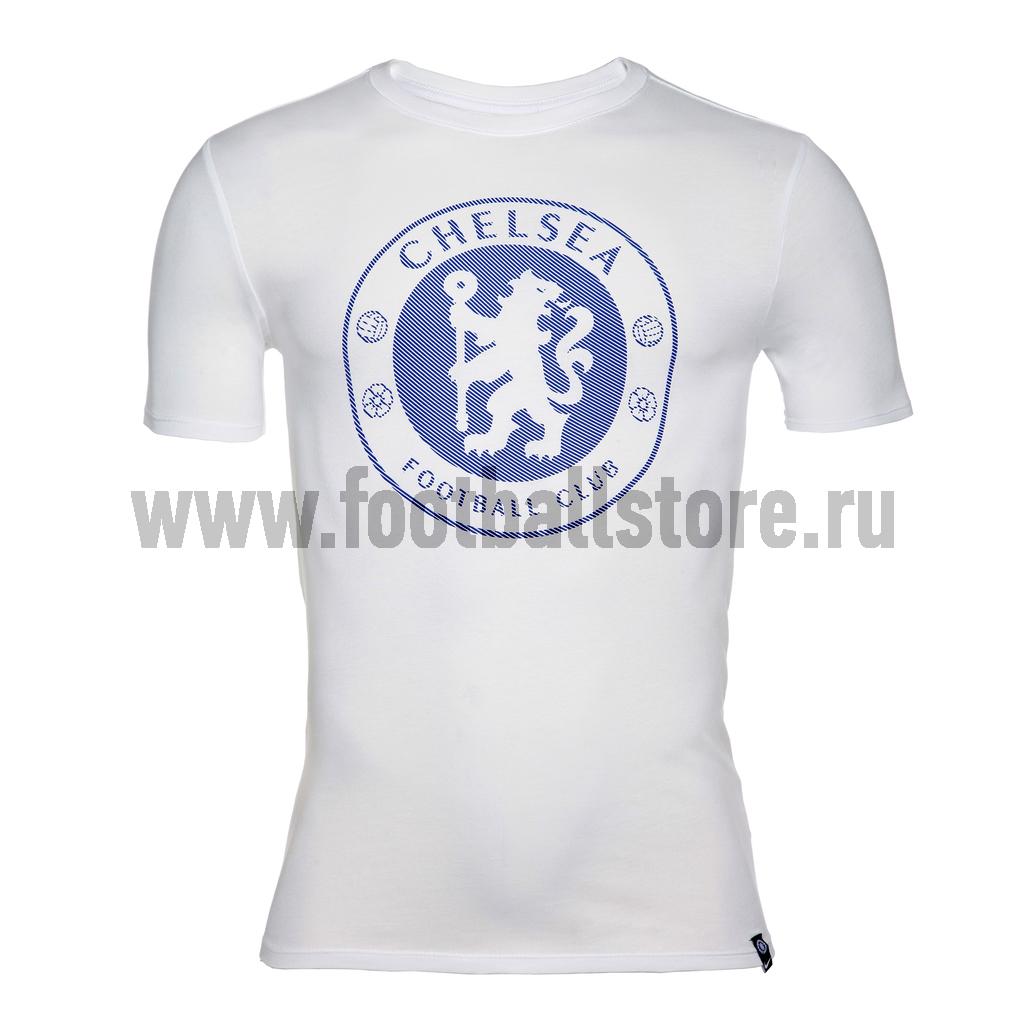 Футболка Nike Chelsea Tee Crest 911205-100 roma nike футболка nike roma tee crest 888804 613