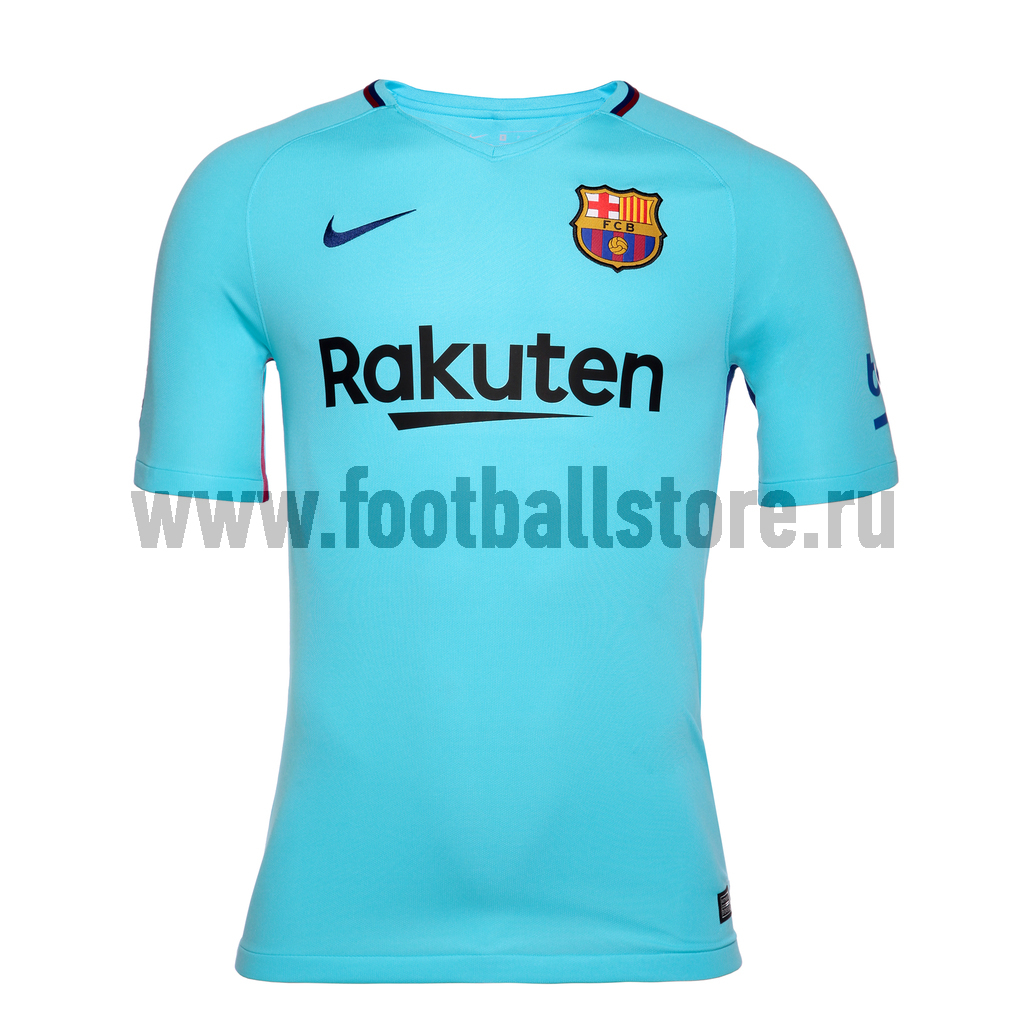 Футболка игровая Nike Barcelona Stadium Away 847254-484 nike mcfc ha gk stadium short