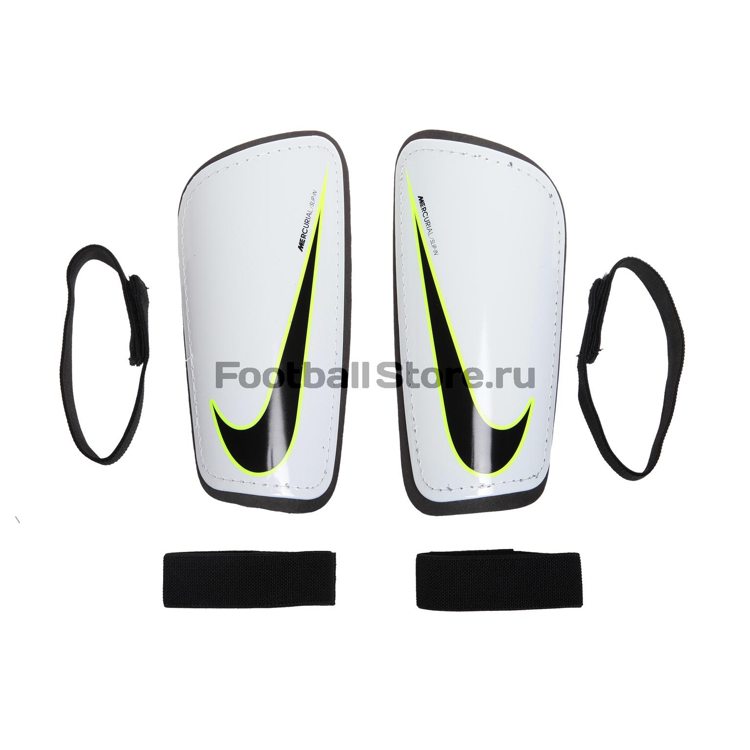 Защита ног Nike Щитки Nike NK Mercurial HRDSHL GRD SP2101-100 щитки футбольные nike nk hrd shell slp grd fa16 sp2101 011 xs чёрный