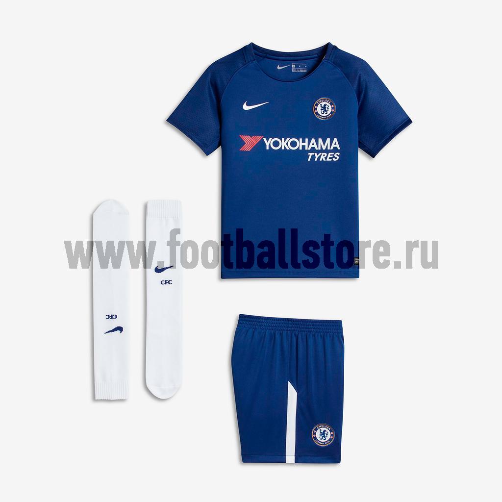 Комплекты формы Nike Комплект детской формы Nike Chelsea Home 905546-496 комплект детской мебели трия индиго к1