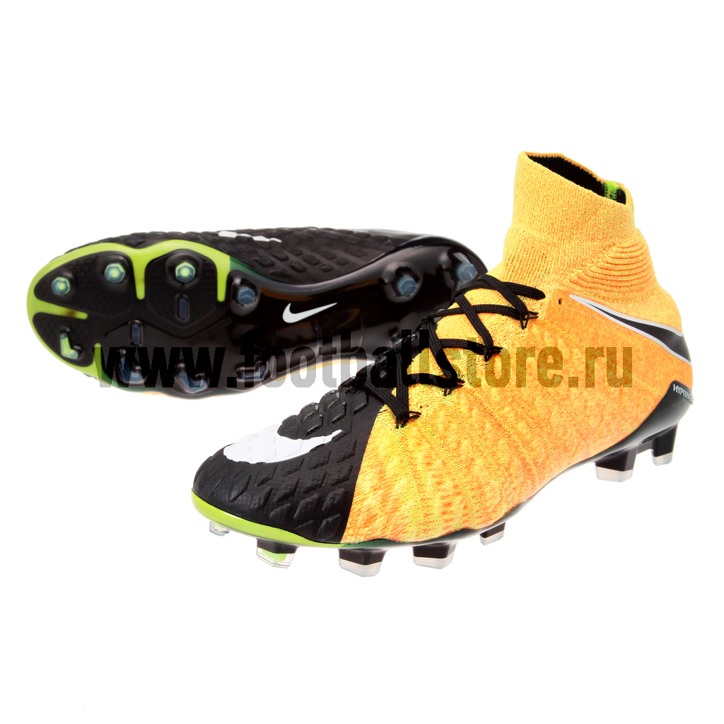 Игровые бутсы Nike Бутсы Nike Hypervenom Phantom III DF FG 860643-801 phantom phantom ph2139