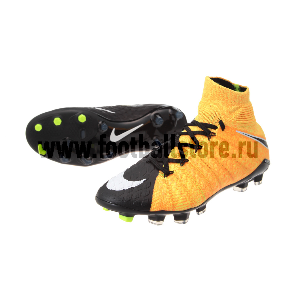 Бутсы Nike JR Hypervenom Phantom 3 DF FG 882087-801 детские бутсы nike бутсы nike jr phantom 3 elite df fg ah7292 081