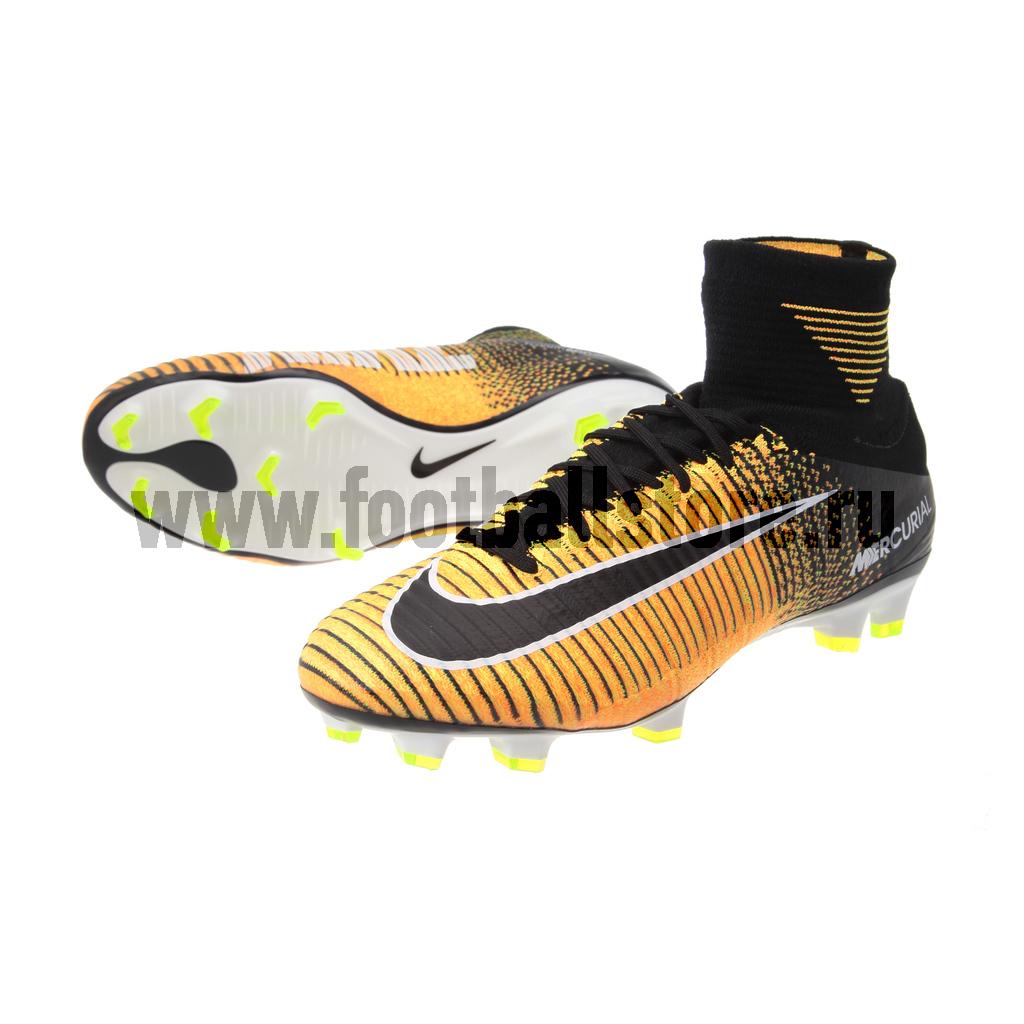 Игровые бутсы Nike Бутсы Nike Mercurial Superfly V DF FG 831940-801 nike nike mercurial lite