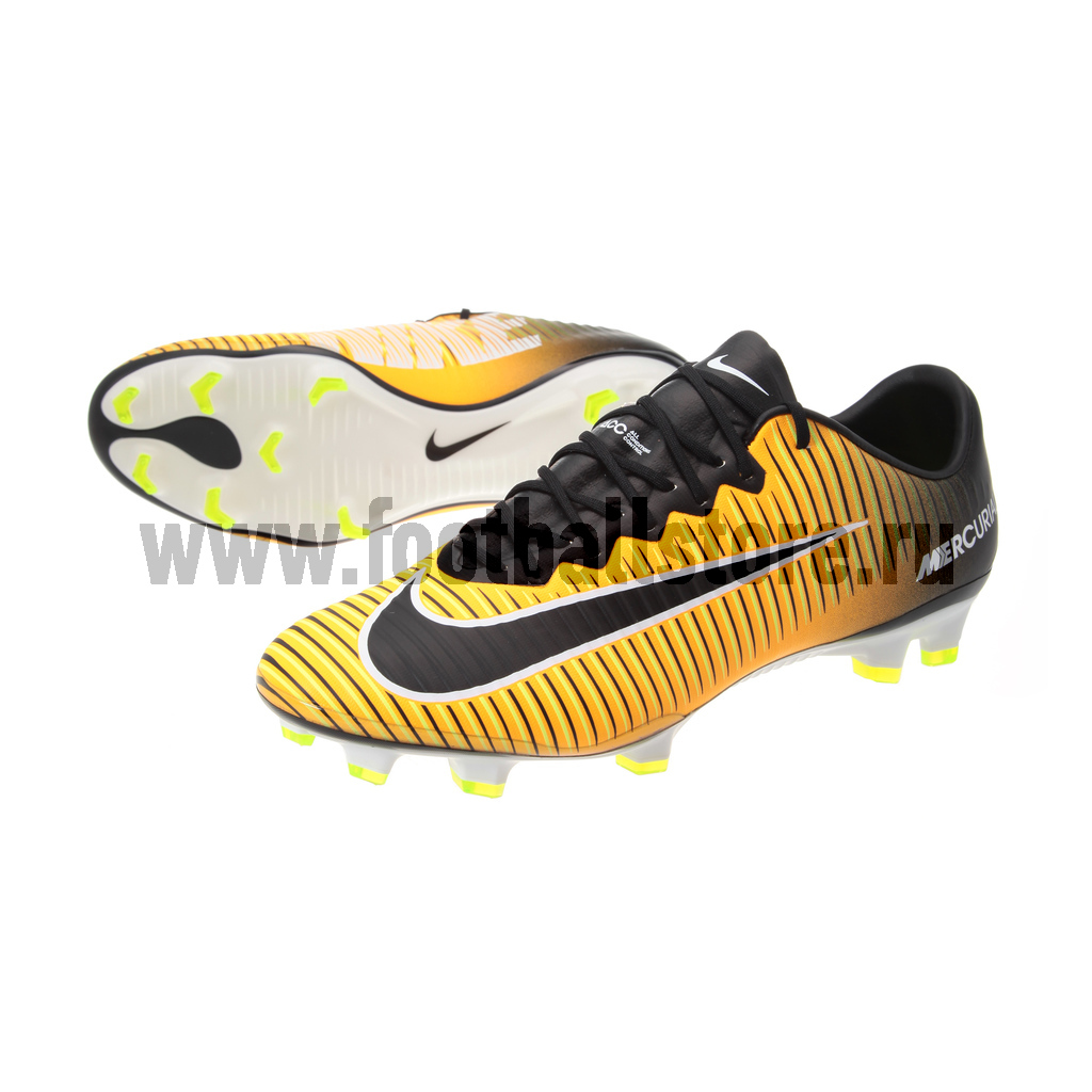 Игровые бутсы Nike Бутсы Nike Mercurial Vapor XI FG 831958-801 спортинвентарь nike чехол для iphone 6 на руку nike vapor flash arm band 2 0 n rn 50 078 os