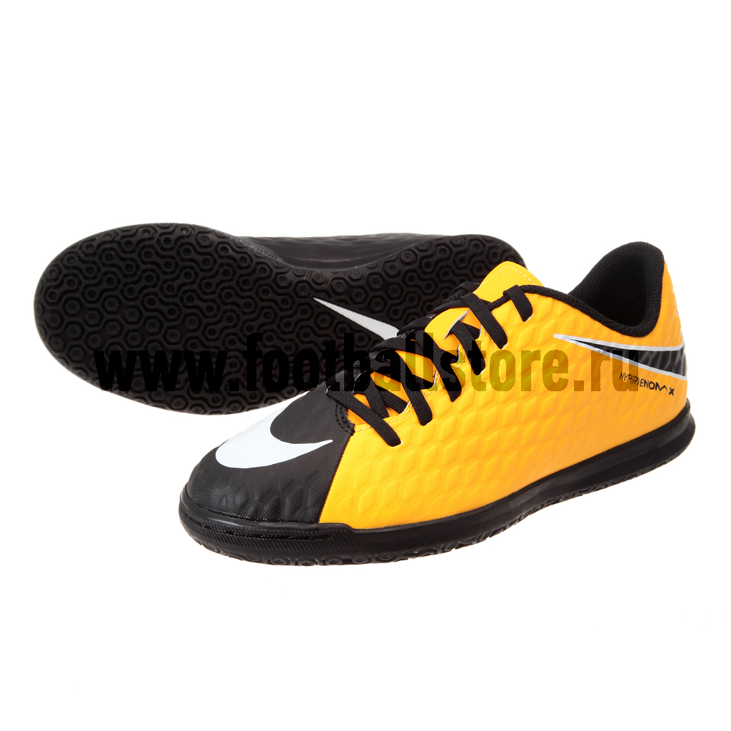 Обувь для зала Nike JR HypervenomX Phade III IC 852583-801 бутсы nike jr hypervenom phade iii fg 852580 414