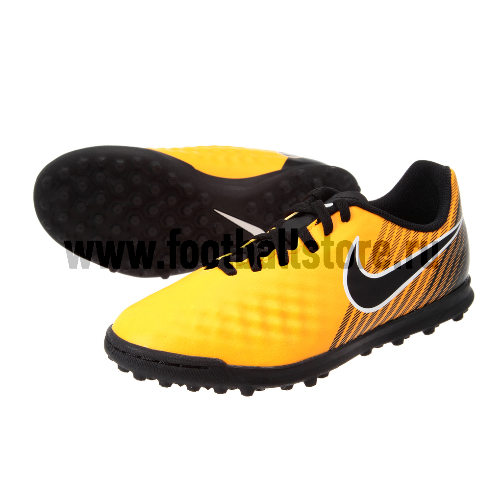 Бутсы Nike Шиповки Nike JR MagistaX Ola II TF 844416-801 nike шиповки jr hypervenomx pro tf