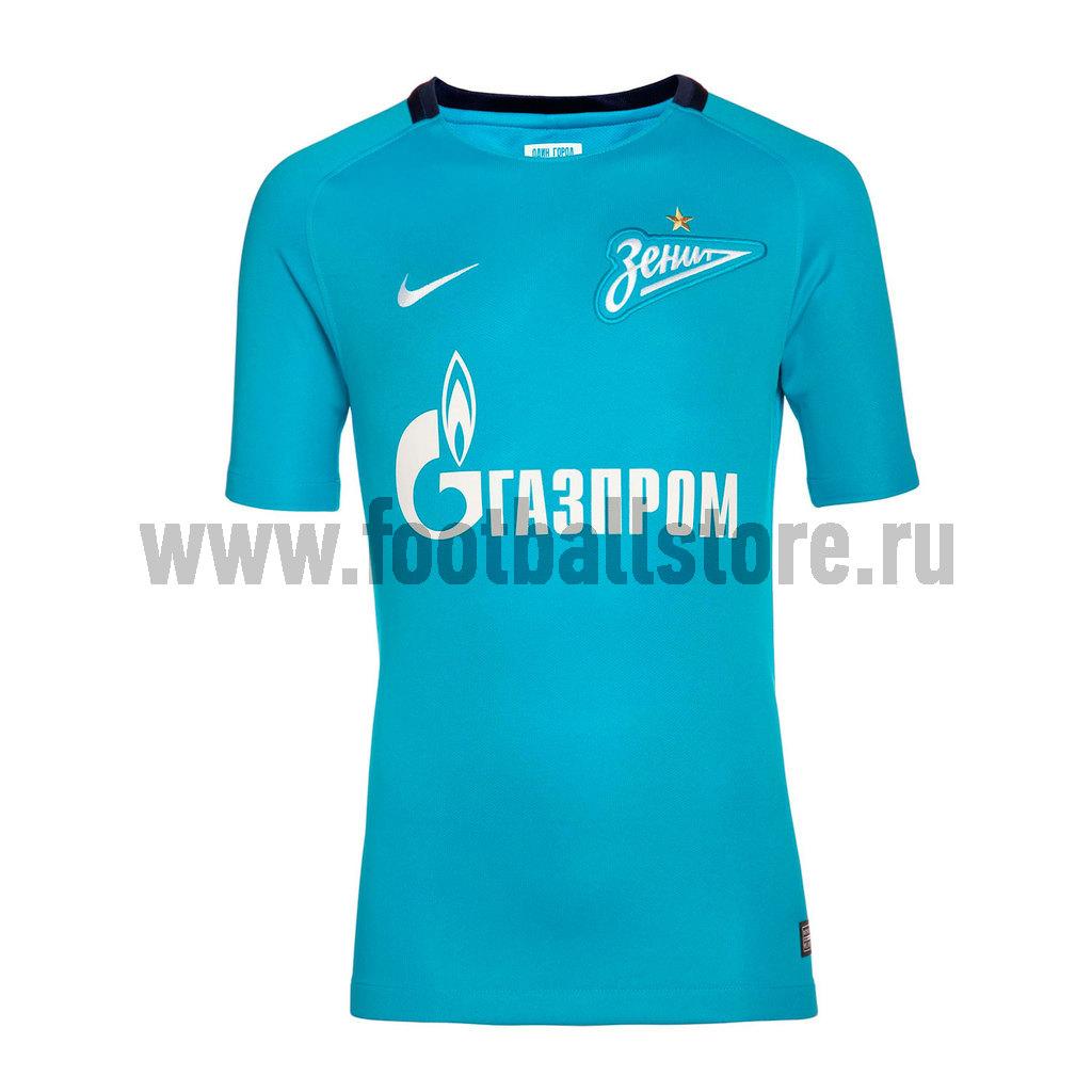 Клубная продукция Nike Подростковая футболка Nike Зенит Home 854807-400 nike nike ni464aghca01
