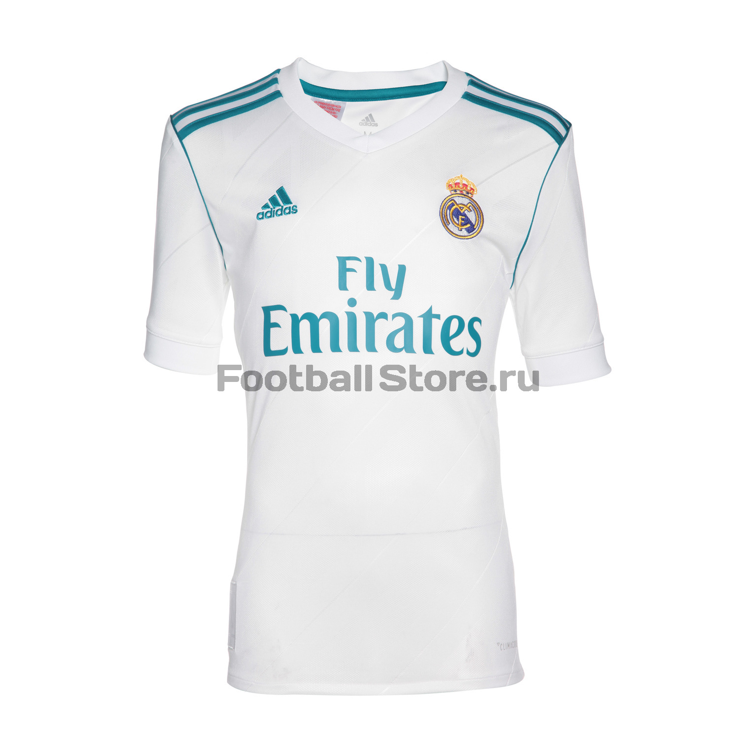Клубная продукция Adidas Футболка подростковая Adidas Real Madrid Home B31111 real madrid adidas свитер adidas real madrid euhybrid top bq7851