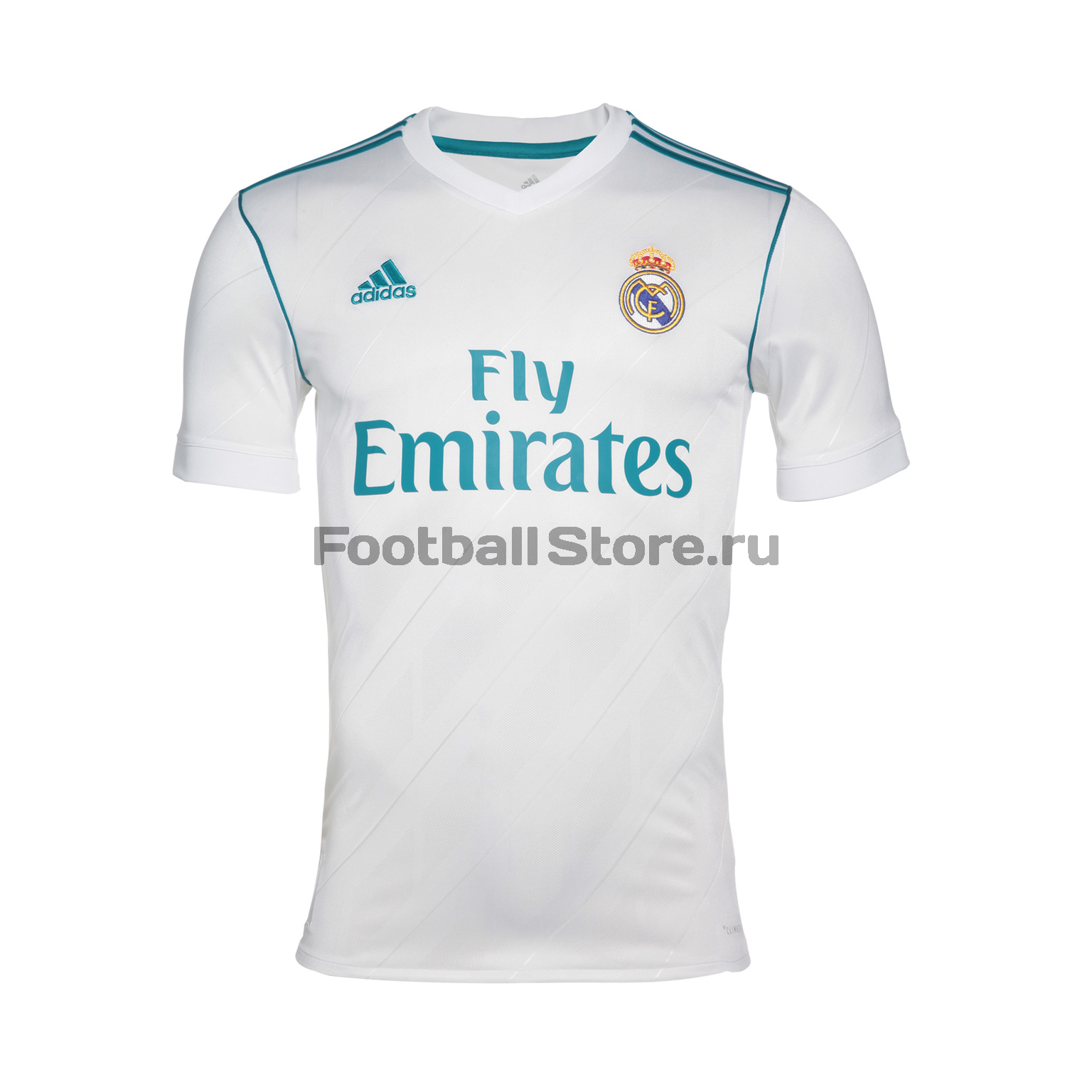 Real Madrid Adidas Футболка игровая Adidas Real Madrid Home AZ8059 real madrid adidas свитер adidas real madrid euhybrid top bq7851
