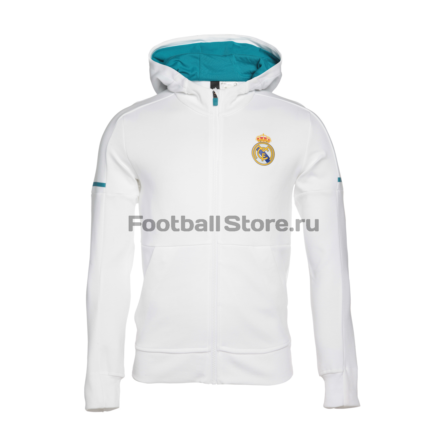 Real Madrid Adidas Толстовка Adidas Real Madrid BR2466 real madrid adidas свитер adidas real madrid euhybrid top bq7851