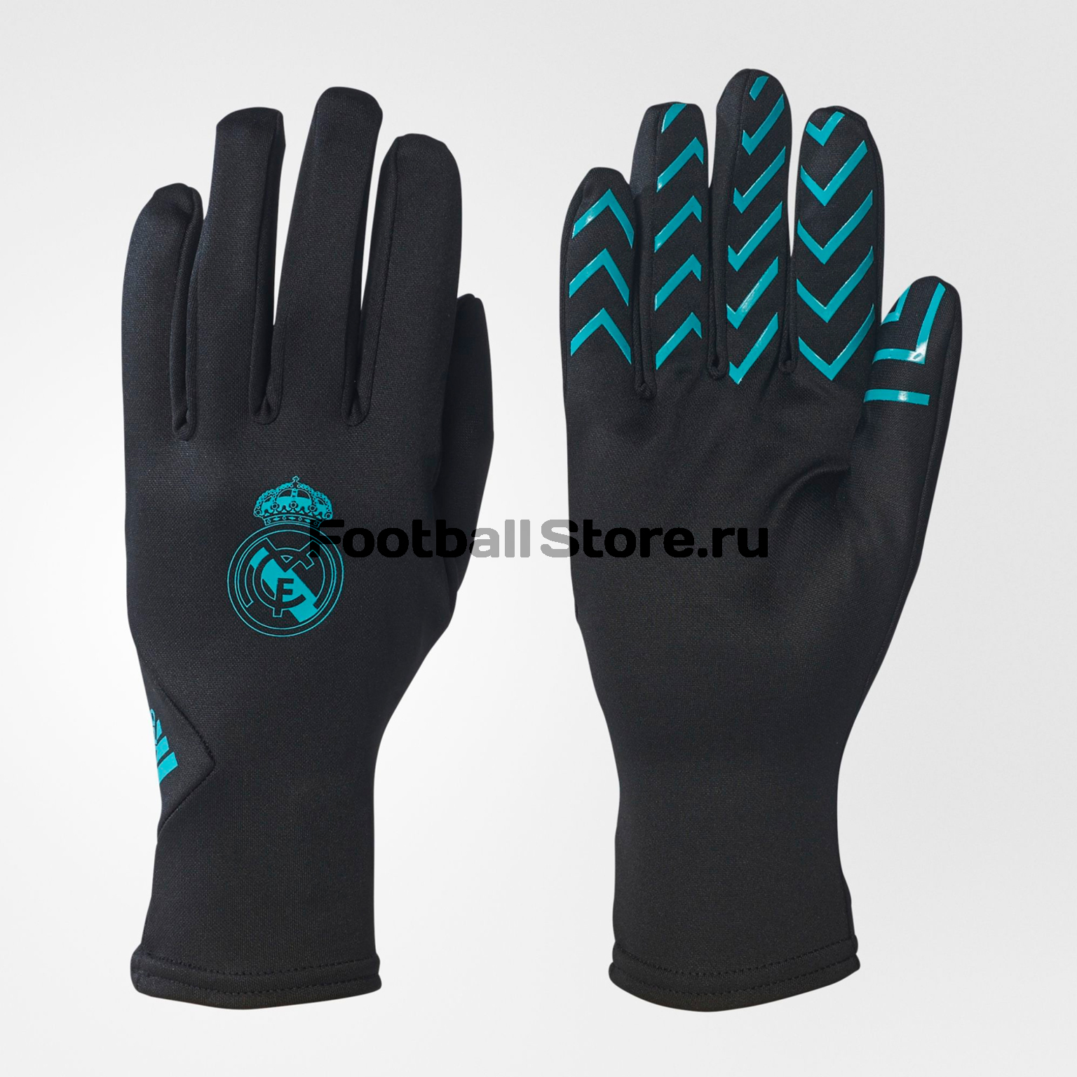 Real Madrid Adidas Перчатки тренировочные Adidas Real Madrid Fieldplayer BR7152