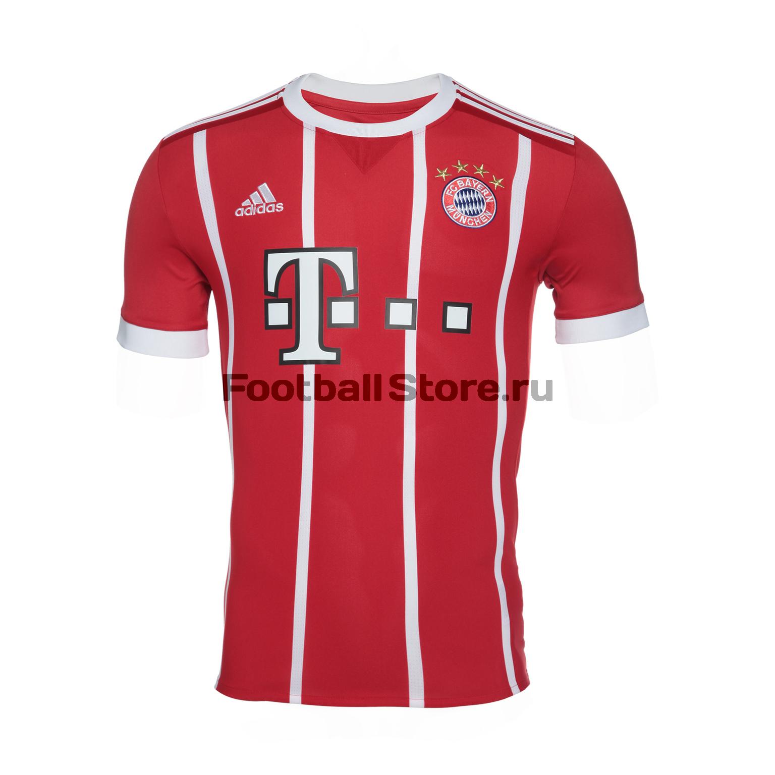 Футболка домашняя игровая Adidas Bayern 2017/2018 все цены