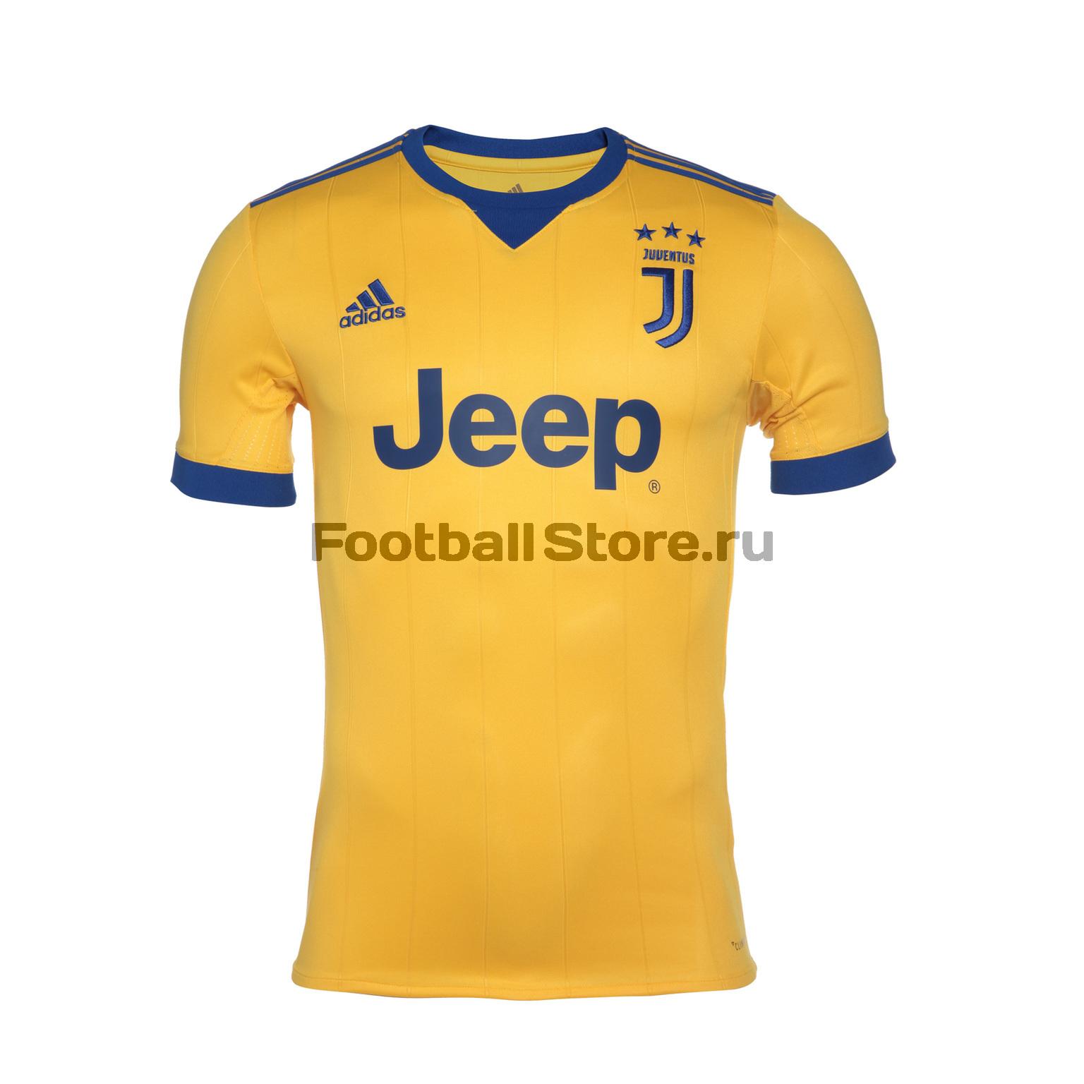 Футболка выездная игровая Adidas Juventus 2017/18 рюкзак adidas juventus 2018 19