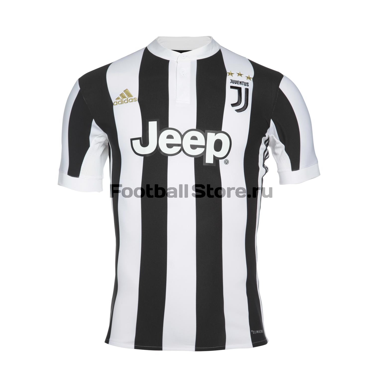 Футболка домашняя игровая Adidas Juventus 2017/18 рюкзак adidas juventus 2018 19