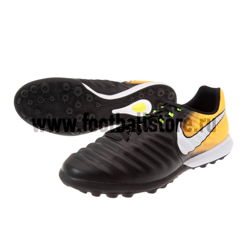 Шиповки Nike Шиповки Nike Tiempo X Finale TF 897764-008 шиповки nike шиповки nike tiempo rio tf 897770 008