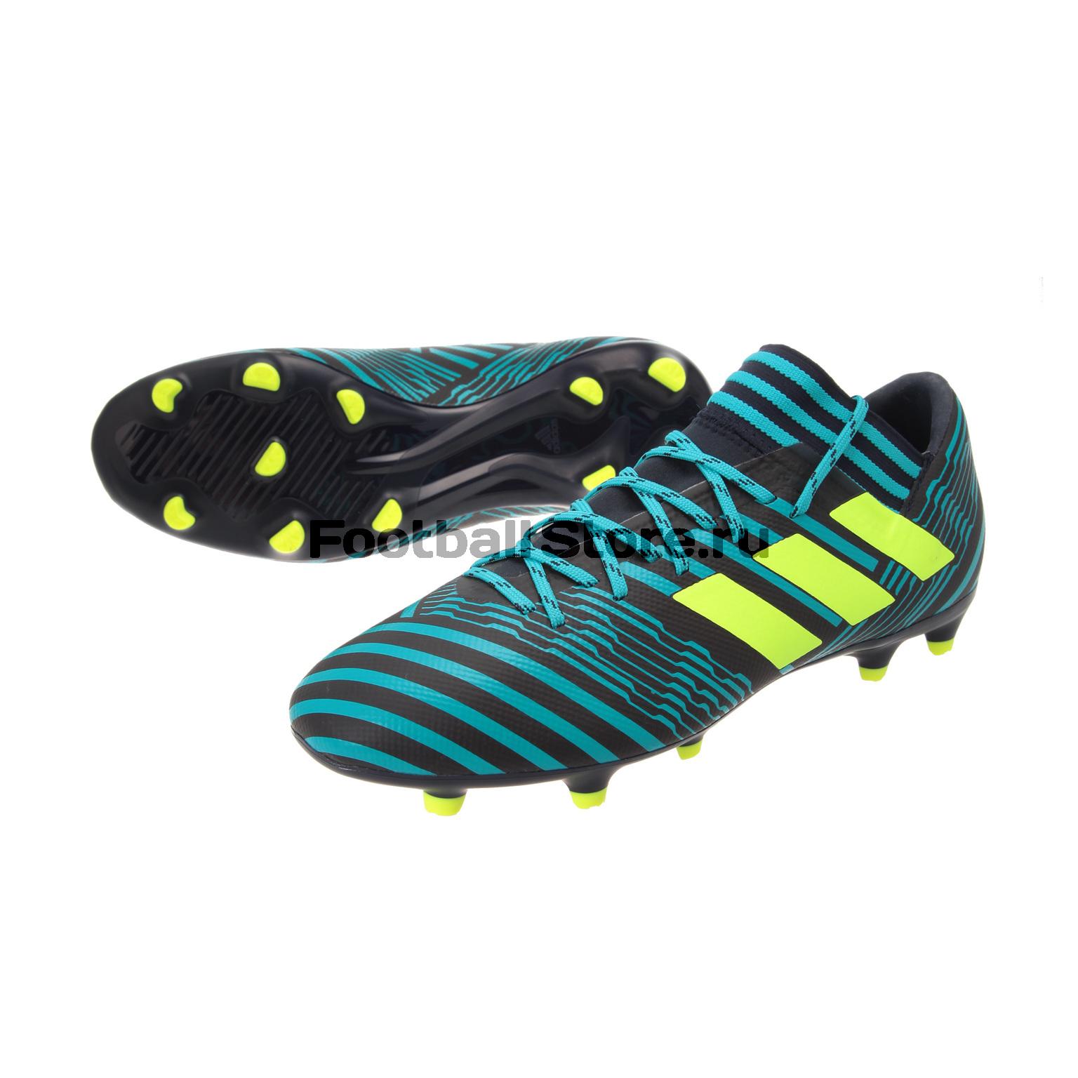 Игровые бутсы Adidas Бутсы Adidas Nemeziz 17.3 FG S80601 idlamp светильник потолочный 818 8pf whitechrome