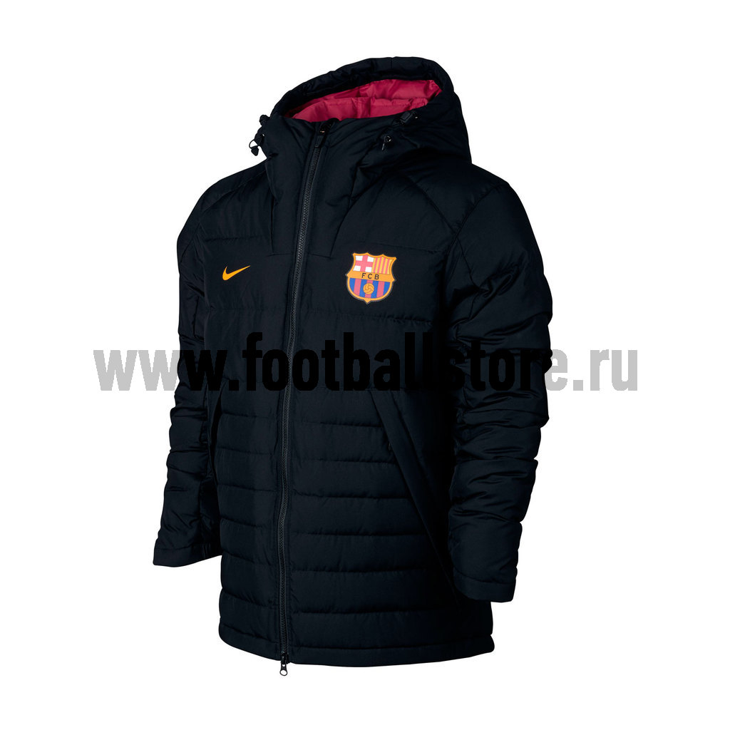Barcelona Nike Куртка утепленная Nike Barcelona 886798-010  barcelona nike шапка nike fc barcelona training benie crested 805304 010