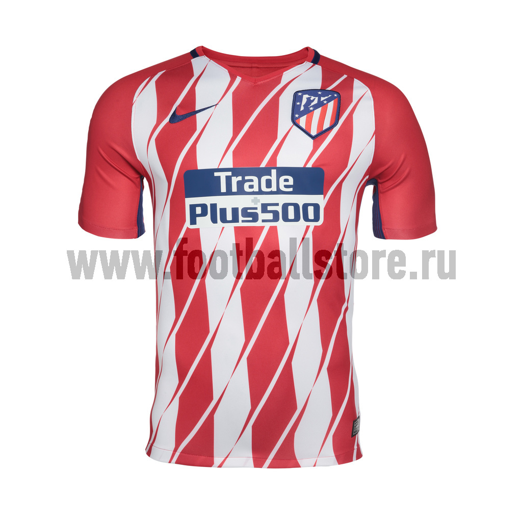 Atletico Madrid Nike Футболка игровая Nike Atletico Madrid Home 847291-612 holiday inn madrid piramides ex rafaelhoteles piramides 3 мадрид