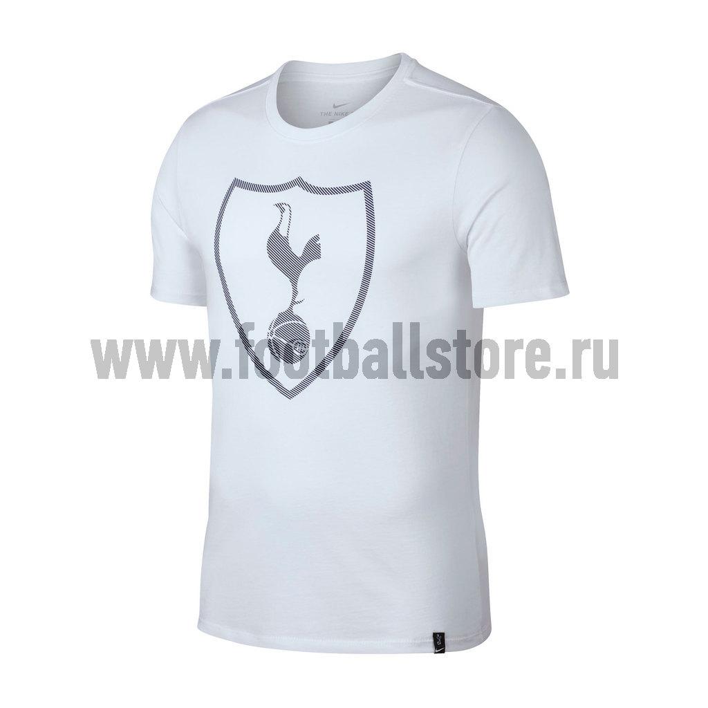 Tottenham Nike Футболка Nike Tottenham Tee Crest 911203-100 футболка jslv футболка life tee