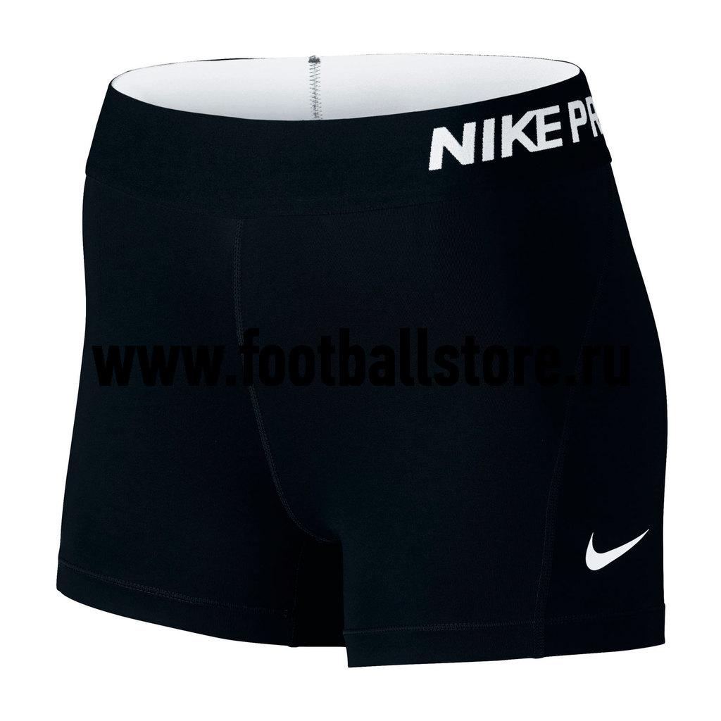 Белье шорты женские Nike Pro Cool 3IN 725443-010 шорты спортивные nike pro 3 short 589364 010