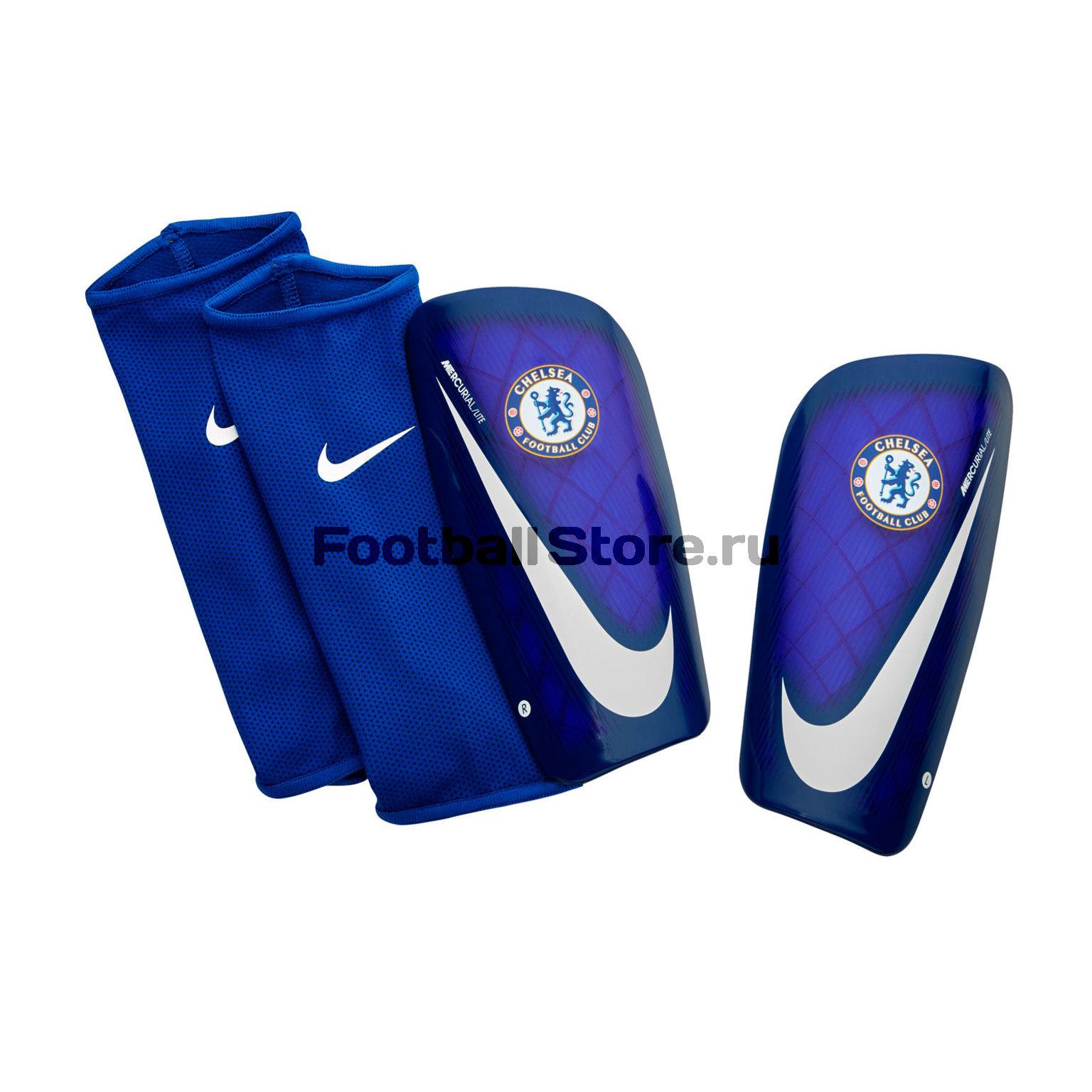 Chelsea Nike Щитки Nike Chelsea Mercurial Lite SP2127-495 nike nike mercurial lite