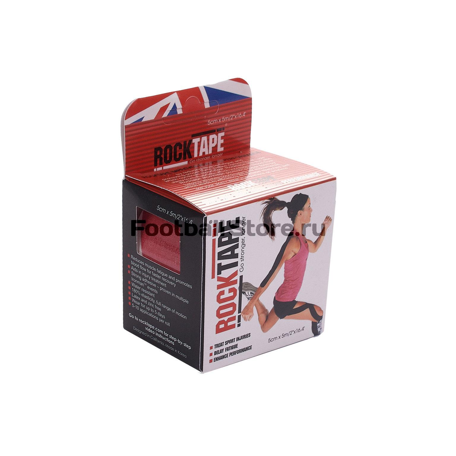 Тейп RockTape Кинезиотейп Design, 5см х 5м, британский флаг rocktape design в горошек 5см х 5м
