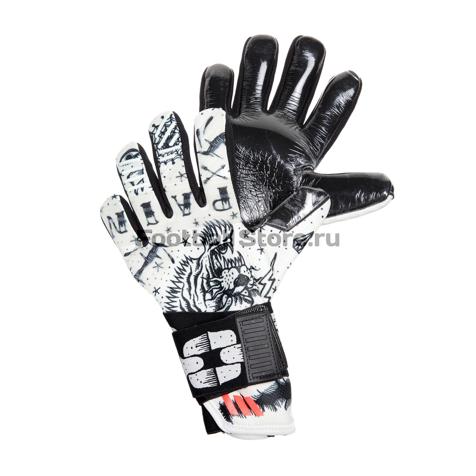 Перчатки Adidas Перчатки вратарские Adidas ACE 2-Face BS4118 цены онлайн