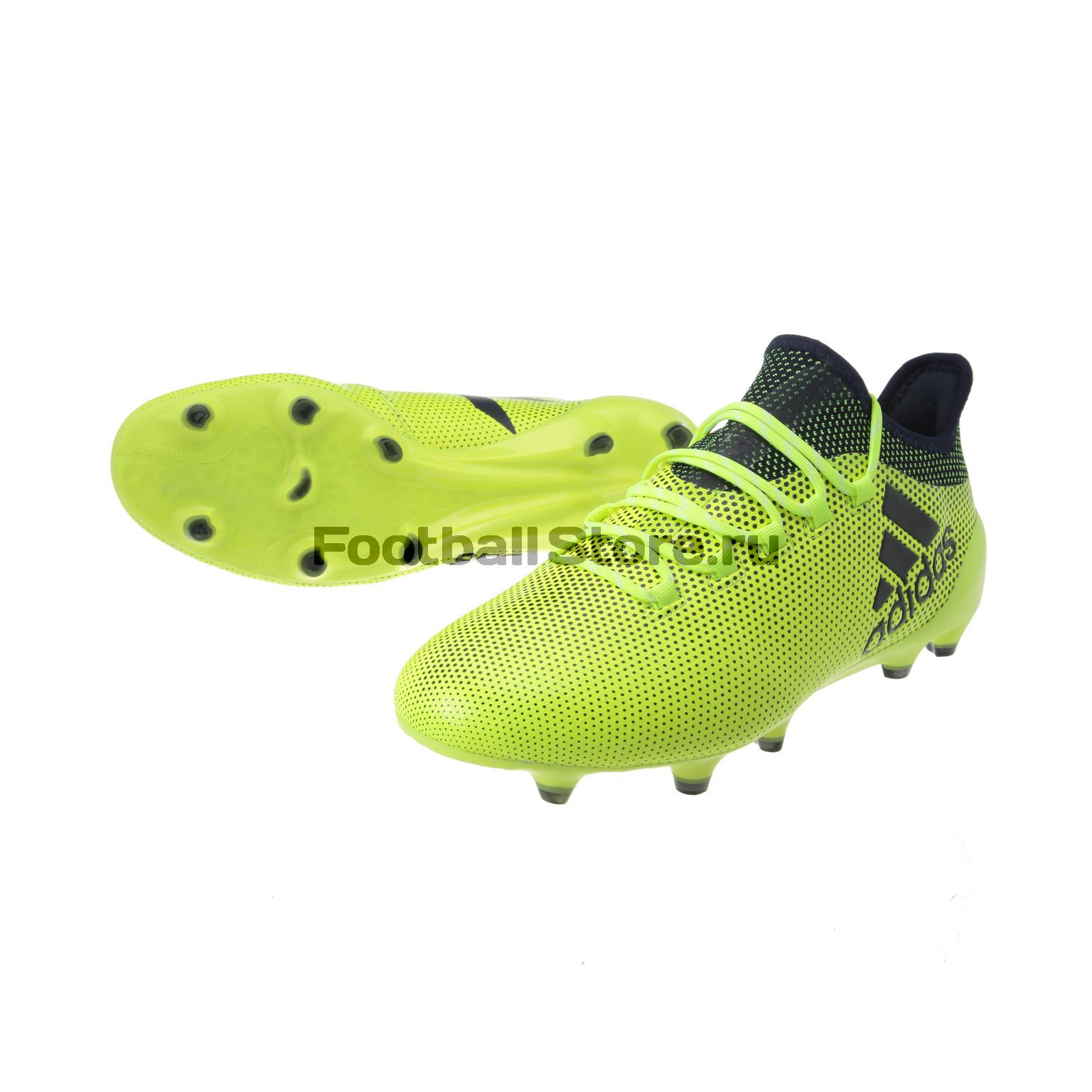 Бутсы Adidas X 17.1 FG S82286 бутсы adidas x 17 1 fg bb6353