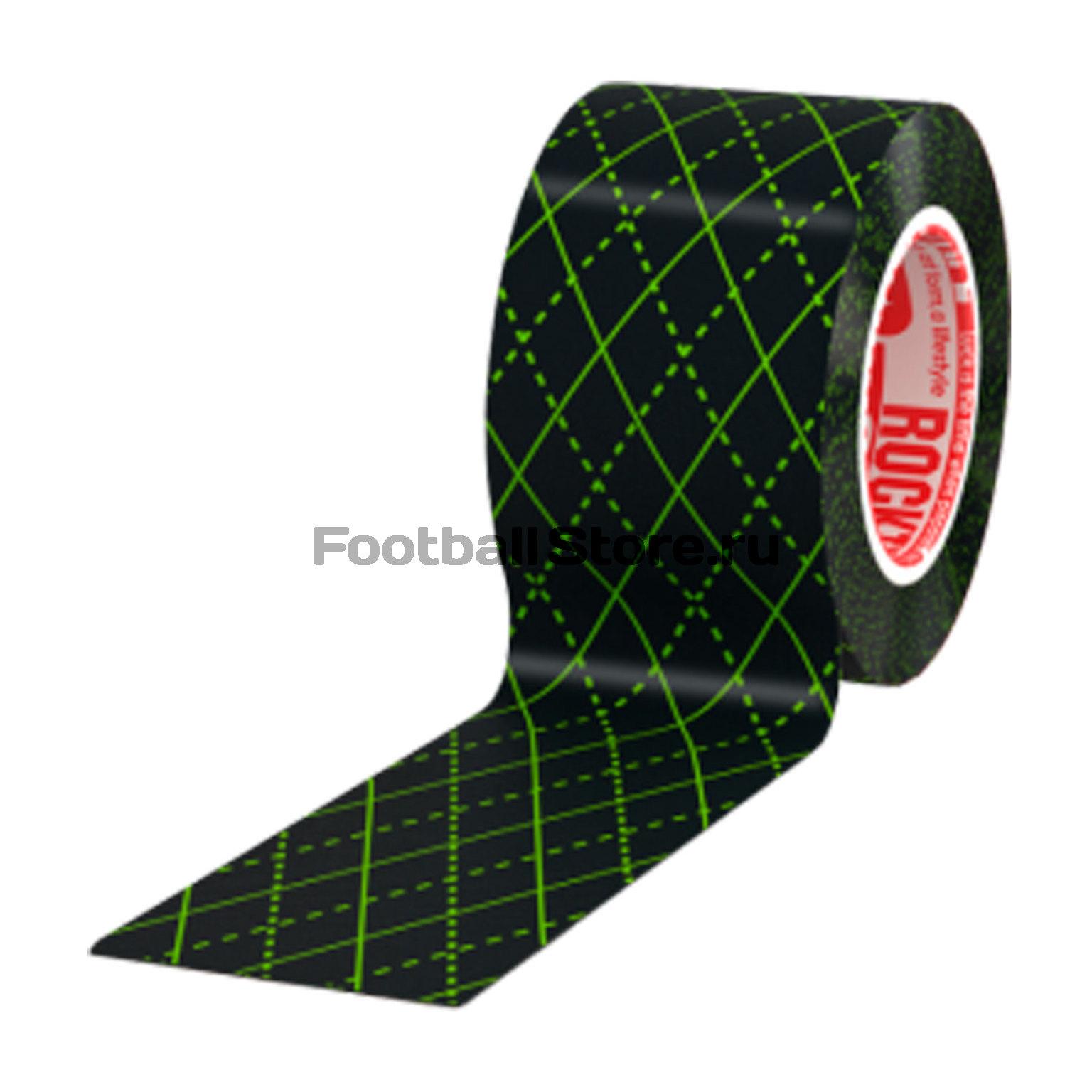 Тейп RockTape Кинезиотейп Design, 5см х 5м, черный узор rocktape design в горошек 5см х 5м