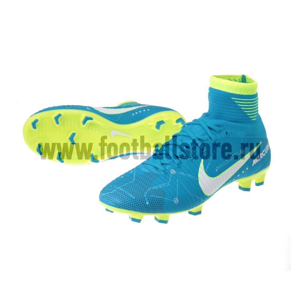 Бутсы Nike Бутсы Nike JR Mercurial Superfly Neymar FG 921483-400 бутсы nike nike ni464amjff16