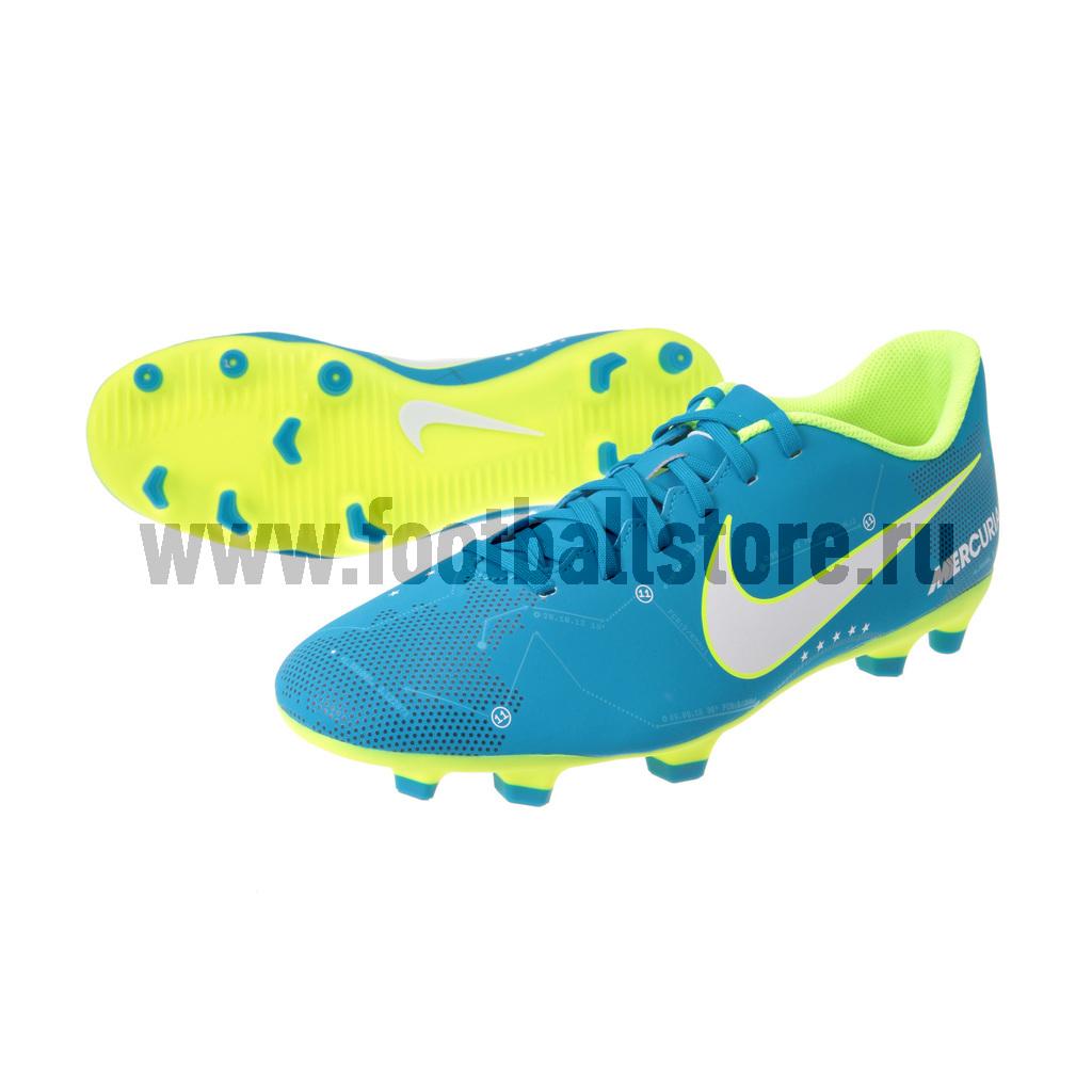 Игровые бутсы Nike Бутсы Nike Mercurial Vortex III Neymar FG 921511-400 nike nike mercurial lite