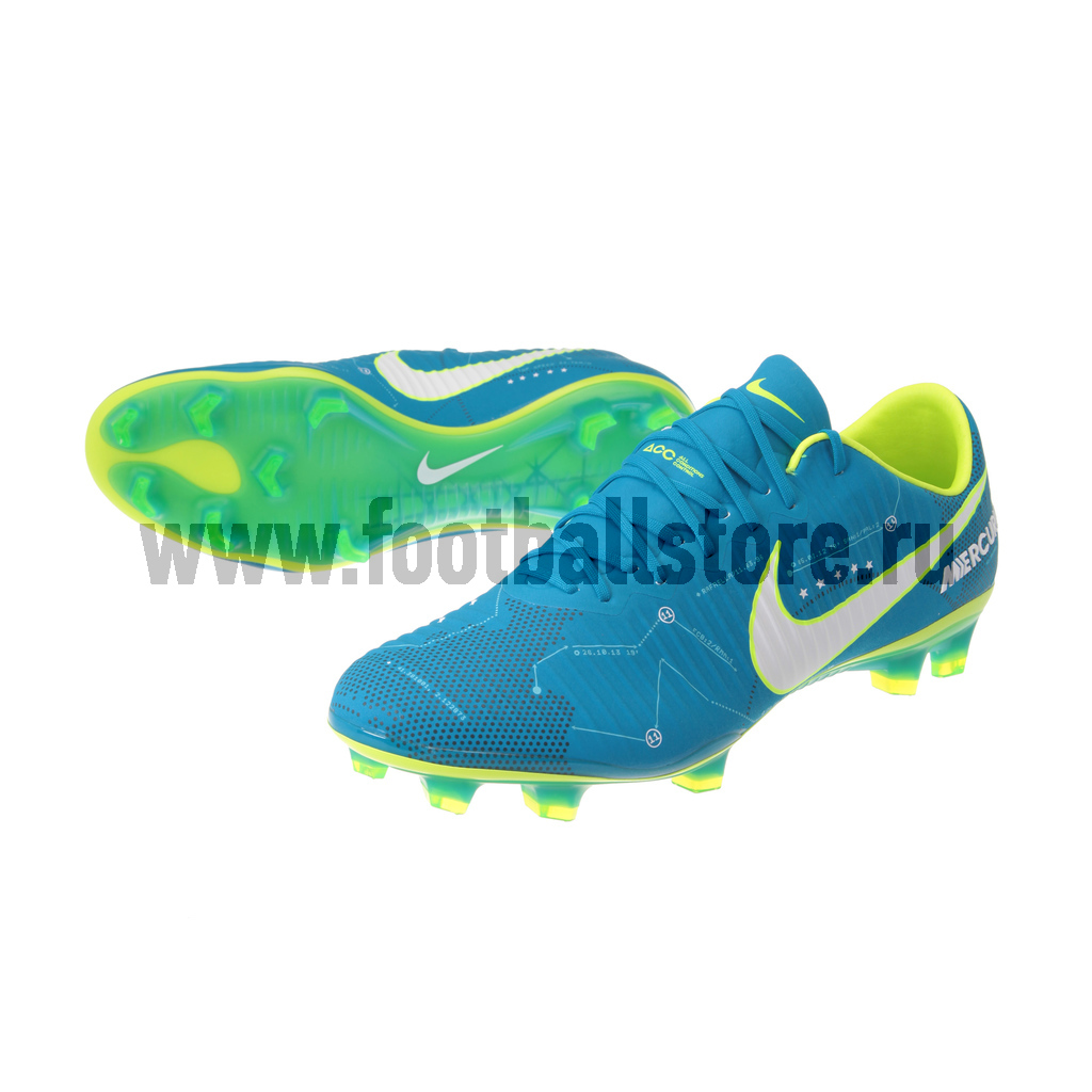 Игровые бутсы Nike Бутсы Nike Mercurial Vapor XI Neymar FG 921547-400 спортинвентарь nike чехол для iphone 6 на руку nike vapor flash arm band 2 0 n rn 50 078 os