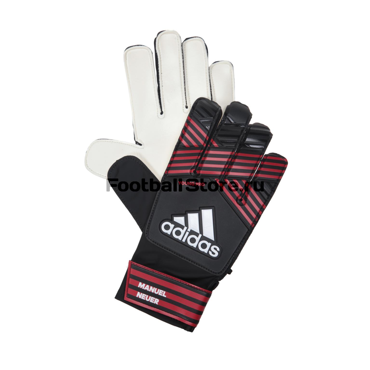 Перчатки вратарские подростковые Adidas Ace BS1552 перчатки adidas перчатки вратарские adidas ace magnetic st cd9131