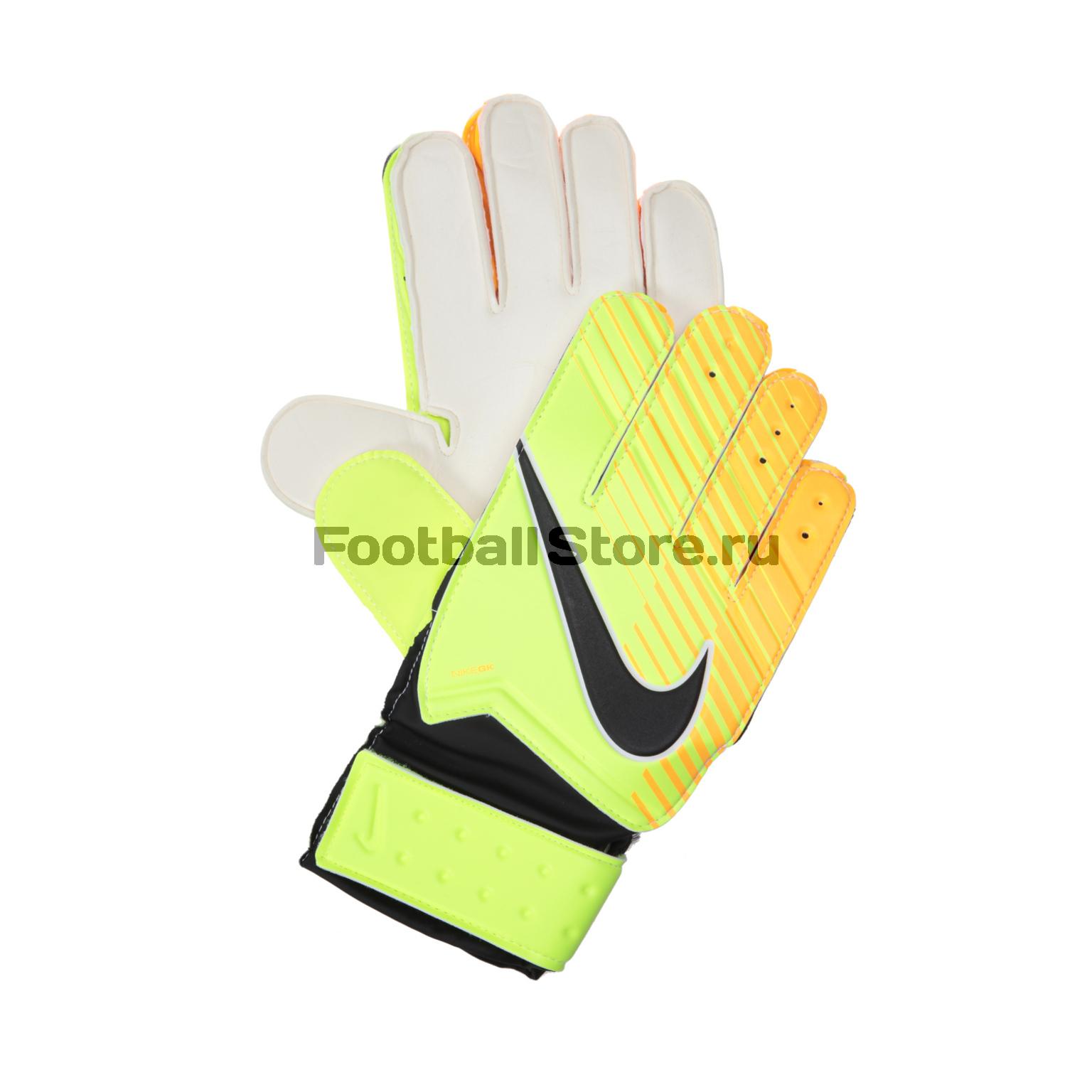Вратарская экипировка Nike Перчатки вратарские подростковые Nike GK Match GS0343-715