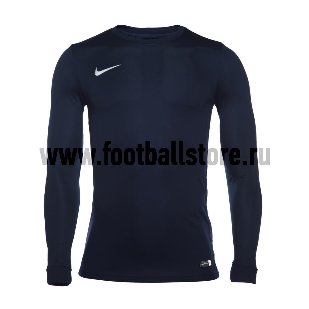 Футболка игровая Nike LS Park VI JSY 725884-410 футболка игровая nike dry tiempo prem jsy ss 894230 057