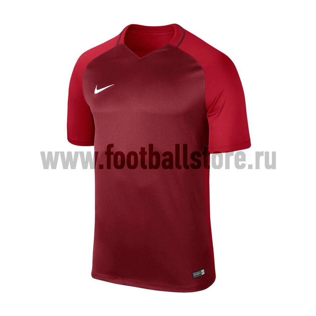 Футболка игровая подростковая Nike Trophy III 881484-677 футболка игровая nike dry tiempo prem jsy ss 894230 411