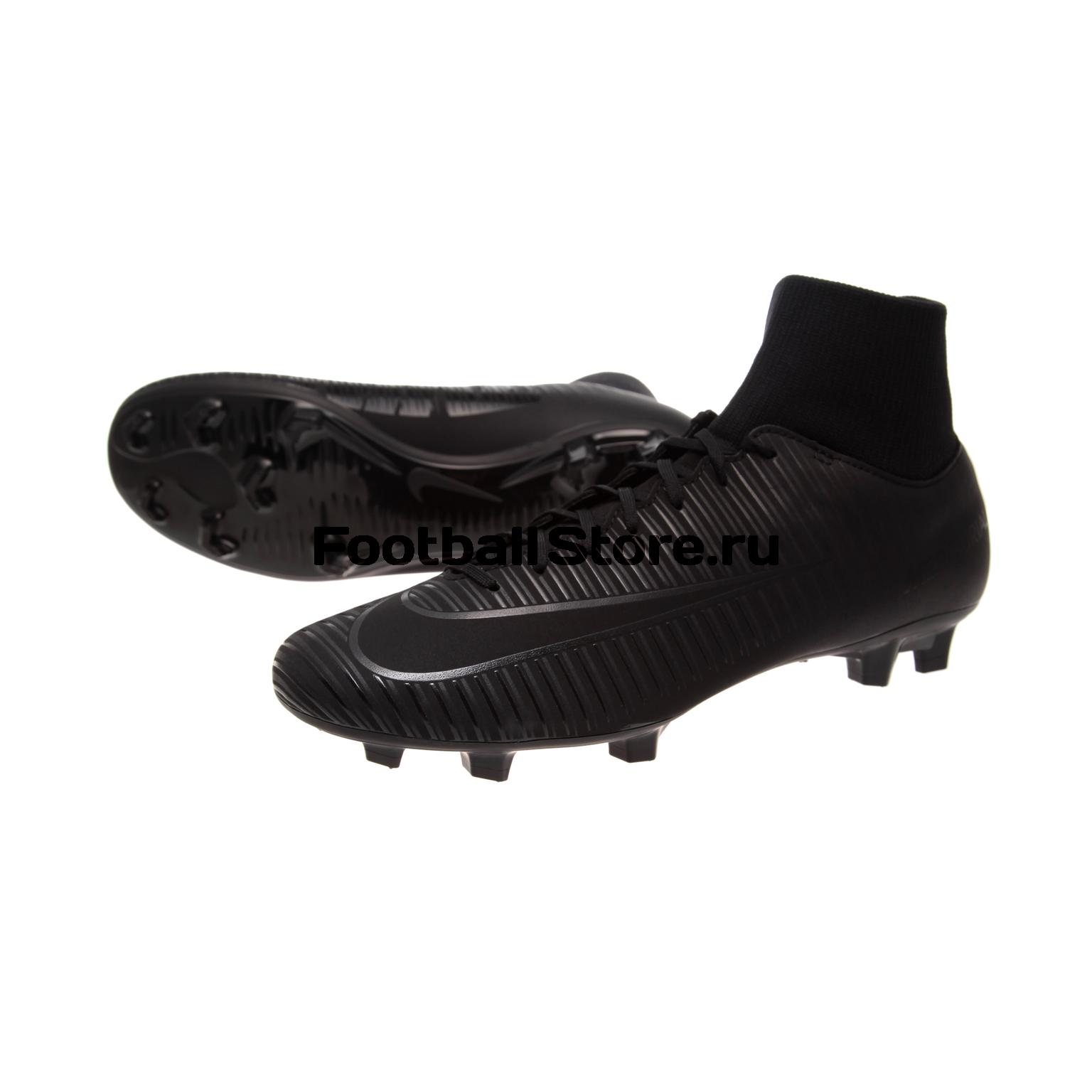 Игровые бутсы Nike Бутсы Nike Mercurial Victory VI DF FG 903609-001 nike nike mercurial lite
