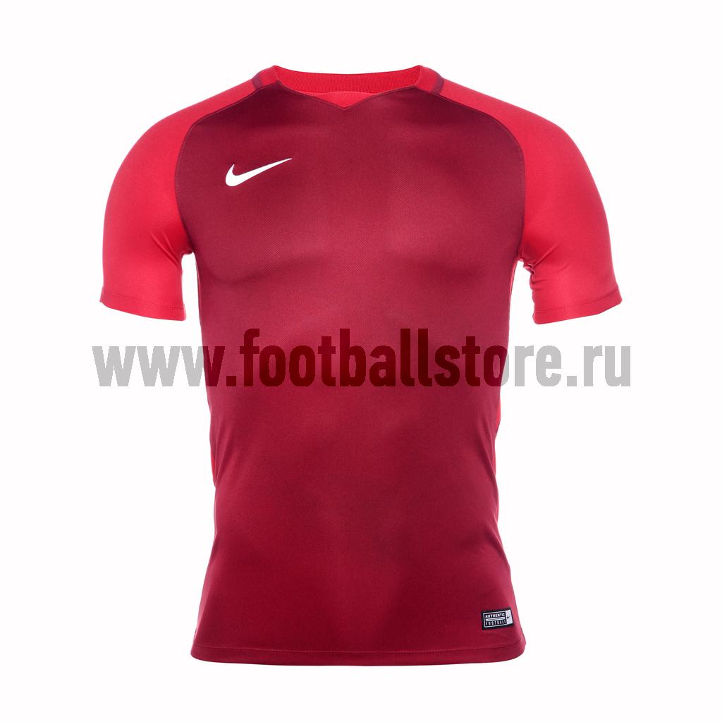 Футболки Nike Футболка игровая Nike Trophy III 881483-677 игровая форма nike футболка детская nike ss precision iii jsy boys 645918 410