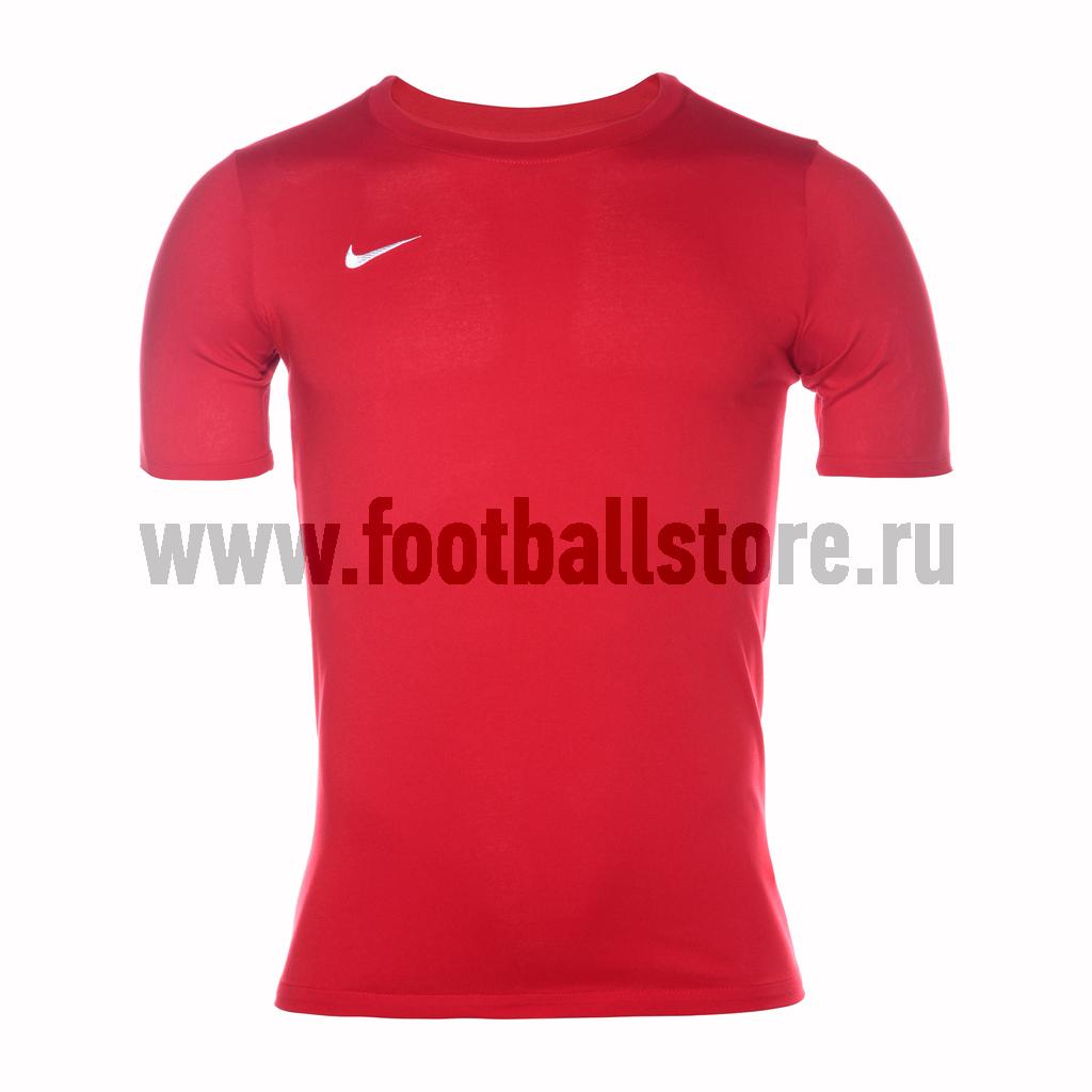 Футболка подростковая Nike Team Club Blend Tee 658494-657 цена