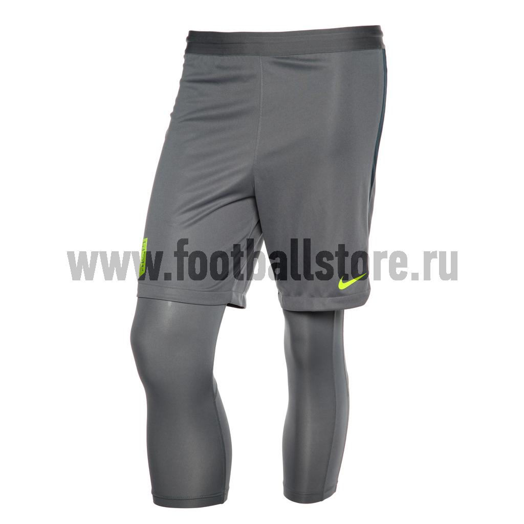 Шорты подростковые с вшитыми лосинами Nike Neymar 859914-497