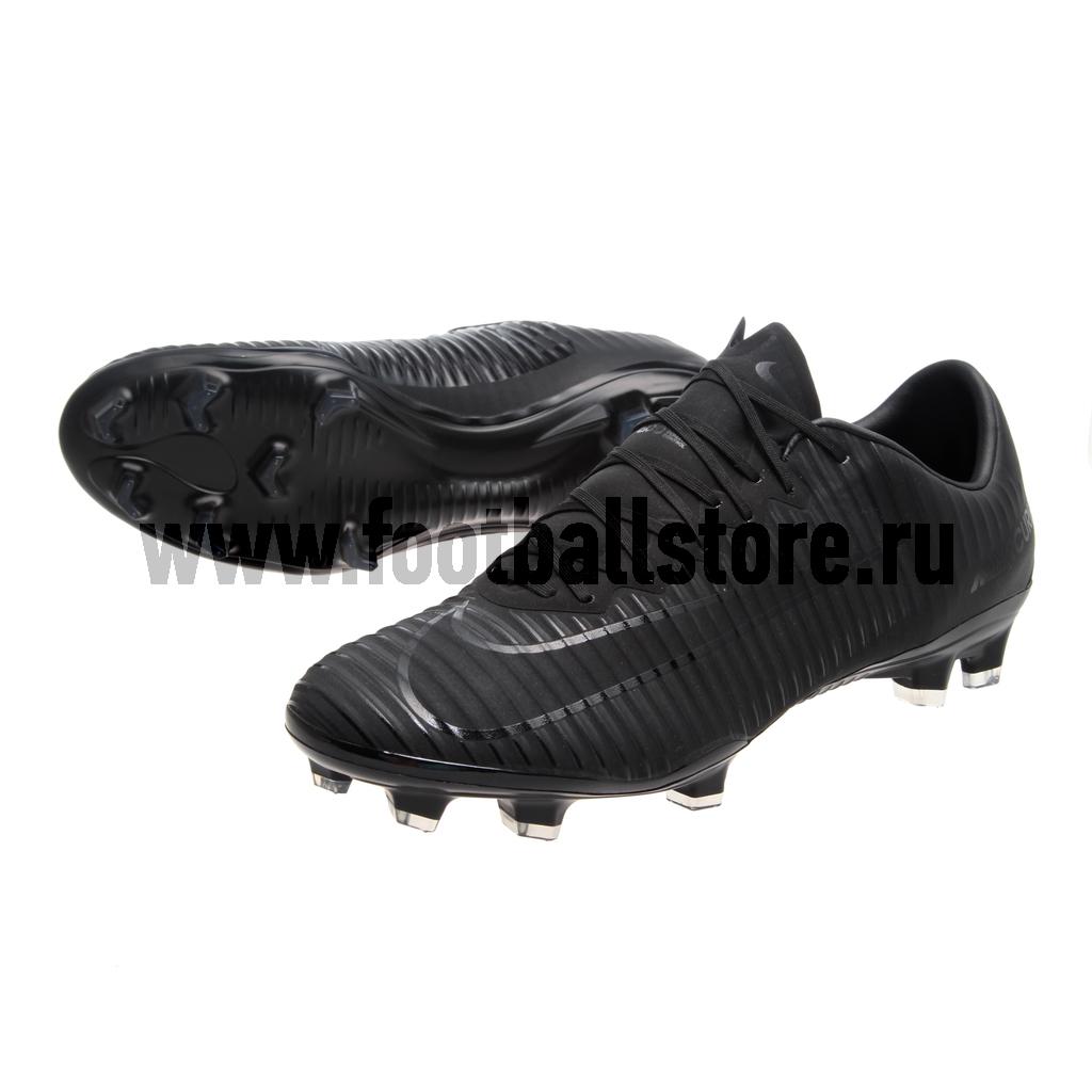 Игровые бутсы Nike Бутсы Nike Mercurial Vapor XI FG 831958-001 спортинвентарь nike чехол для iphone 6 на руку nike vapor flash arm band 2 0 n rn 50 078 os
