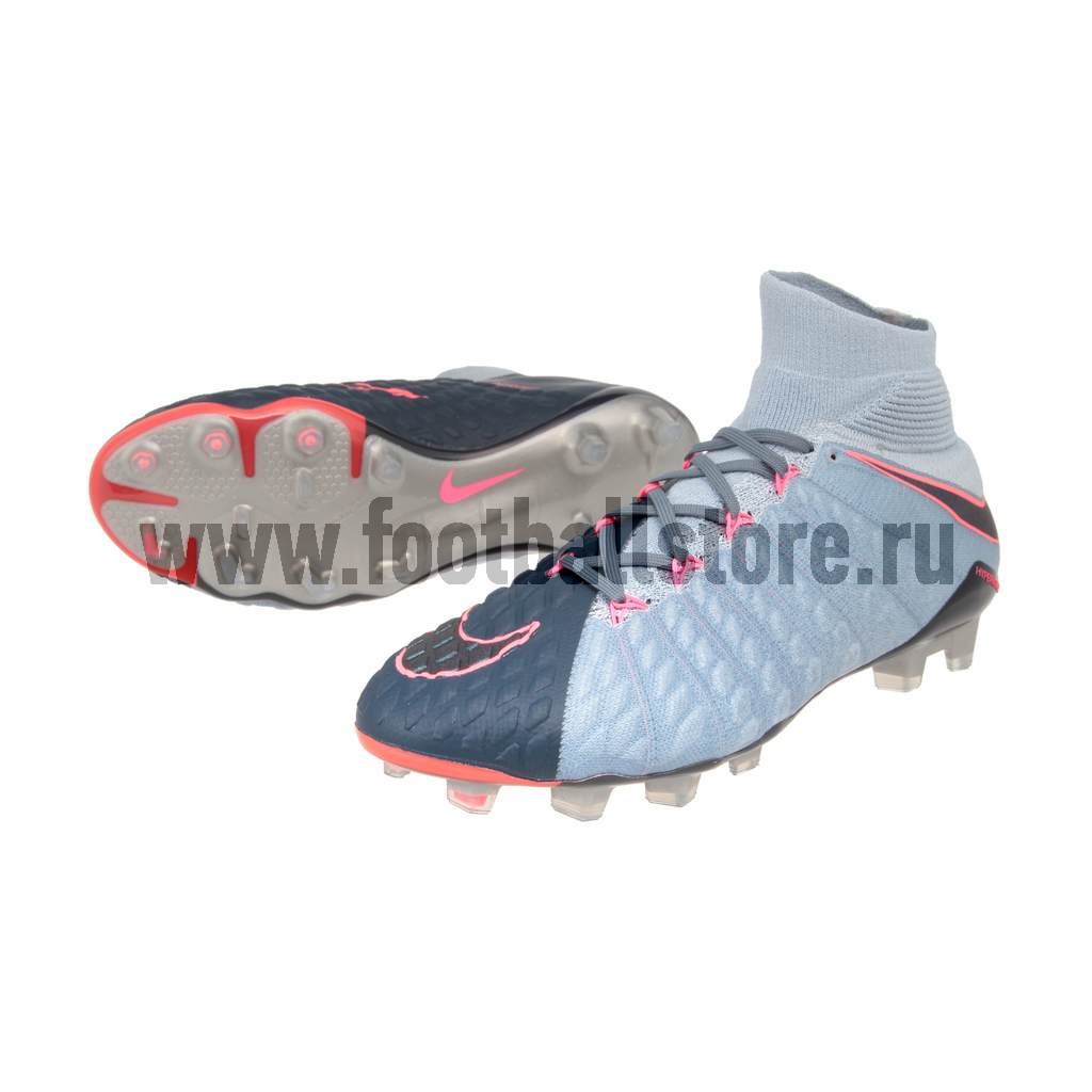 Игровые бутсы Nike Бутсы Nike Hypervenom Phantom III DF FG 860643-400 phantom phantom ph2139