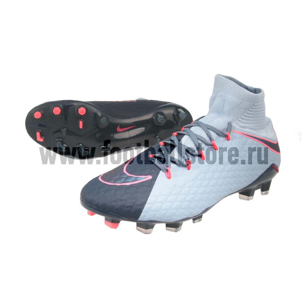 Игровые бутсы Nike Бутсы Nike Hypervenom Phatal III DF FG 852554-400 бутсы nike nike ni464amjff16